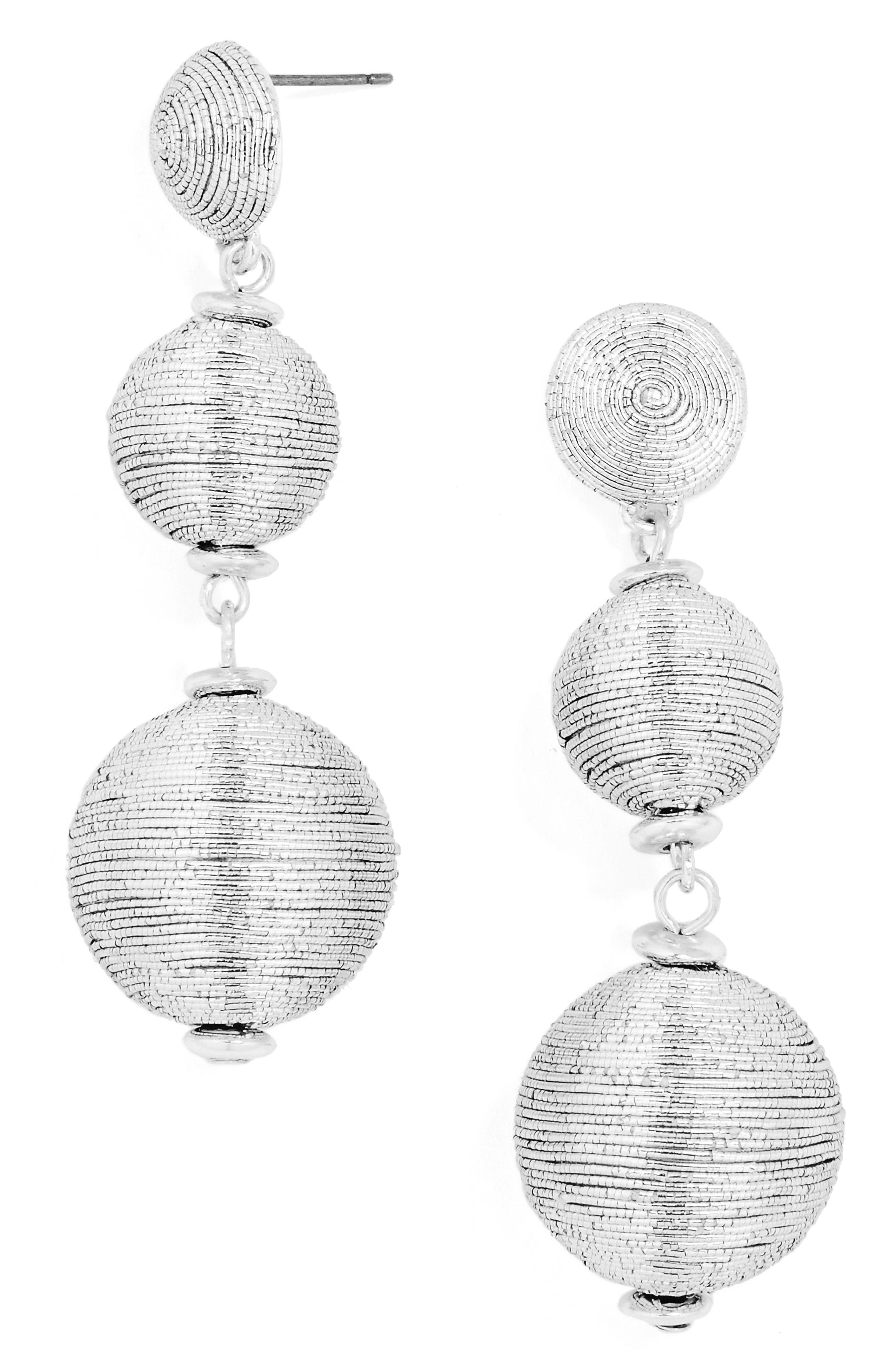 Main Image - BaubleBar Crispin Drop Earrings