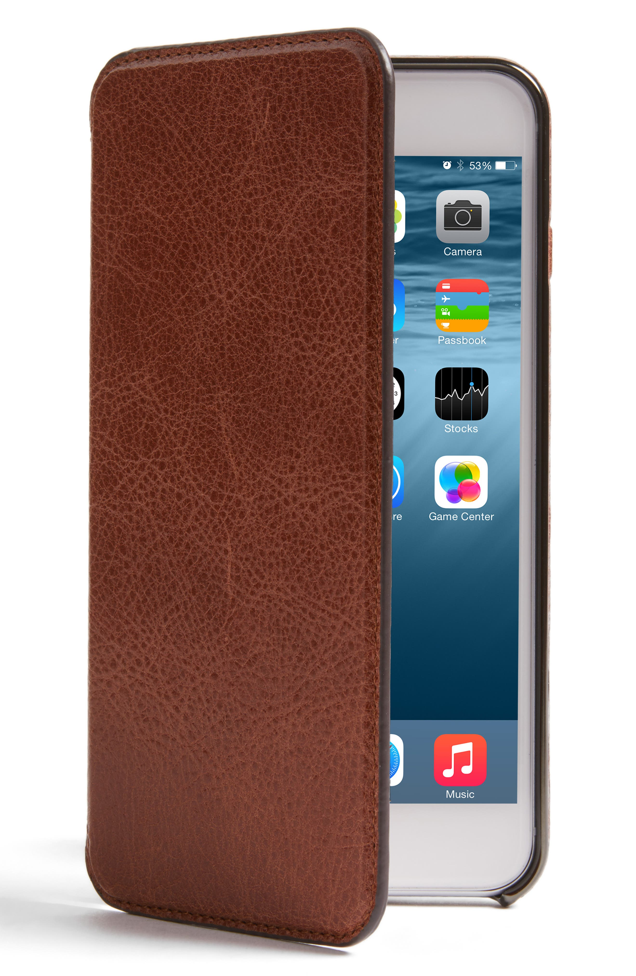 Sena iPhone 7 Plus Ultra Thin Leather Wallet Case