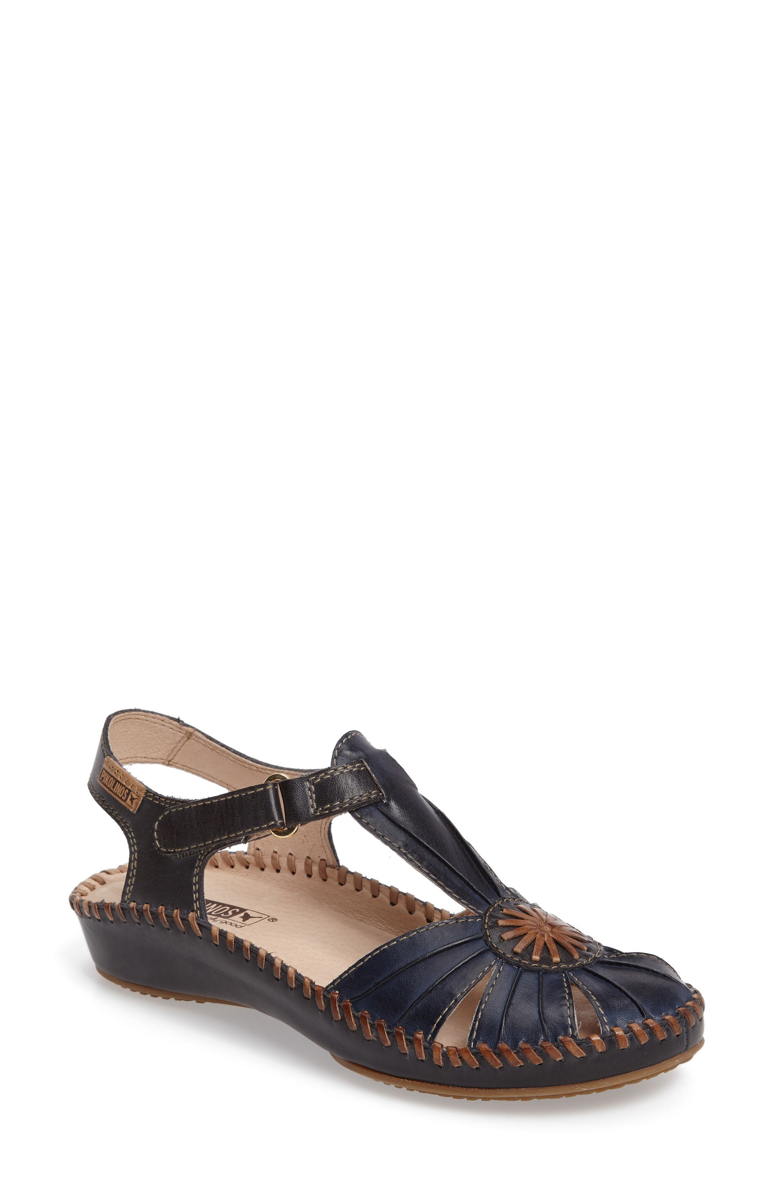 PIKOLINOS 'P. Vallerta' Leather Flat (Women)