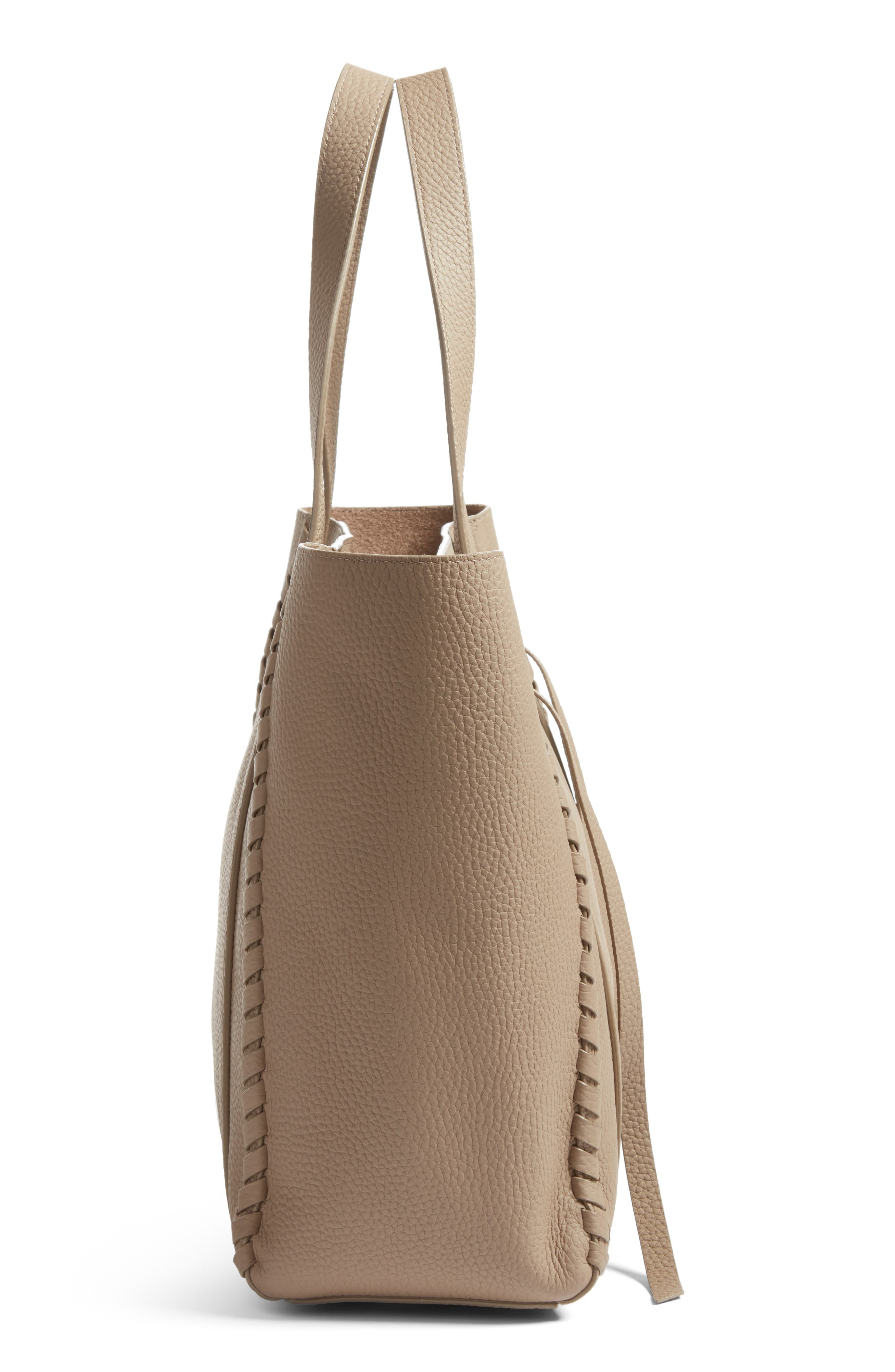 Alternate Image 5  - ALLSAINTS Raye Leather Tote (Nordstrom Exclusive)