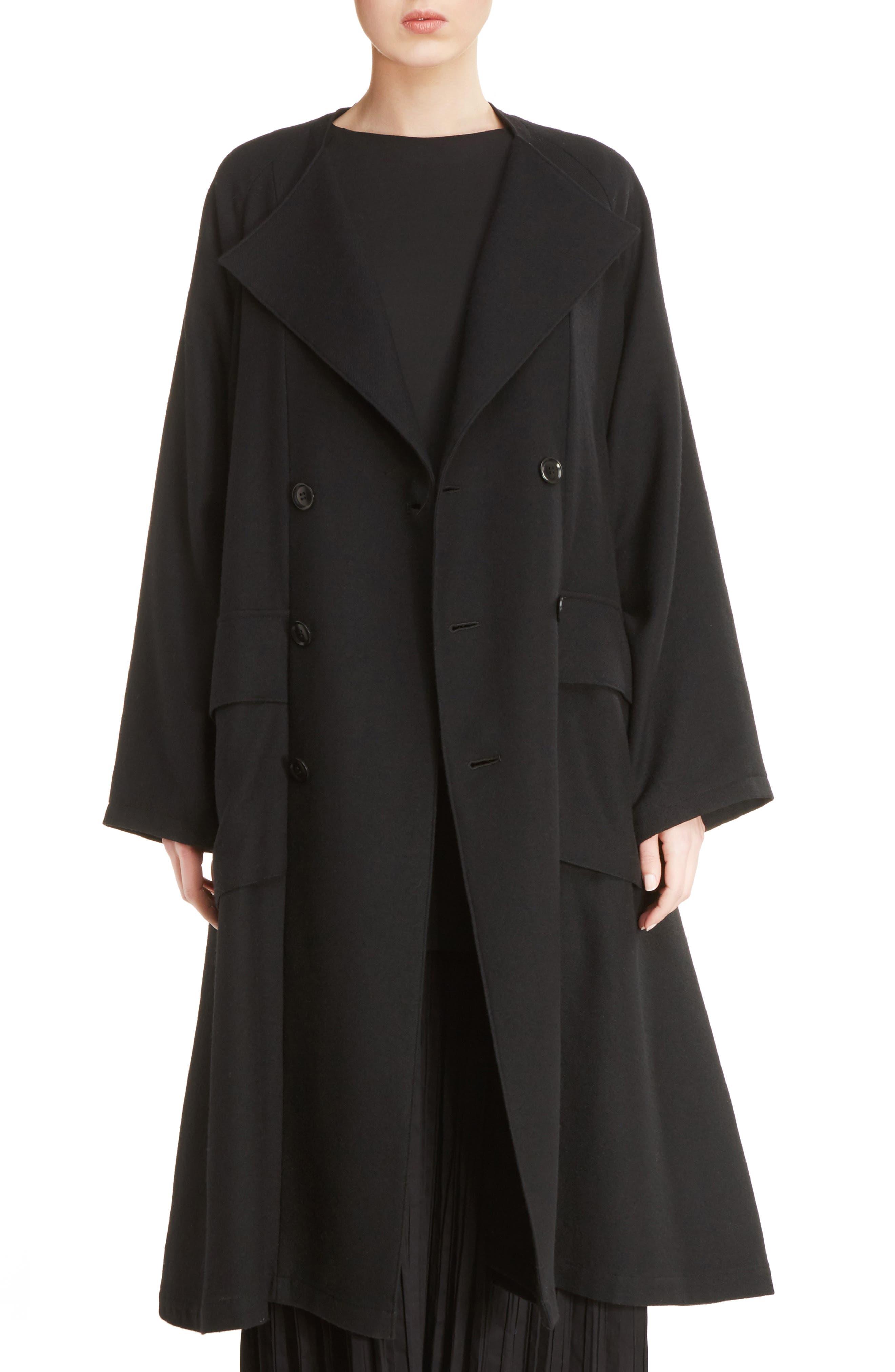 Y's by Yohji Yamamoto O-Raglan Coat