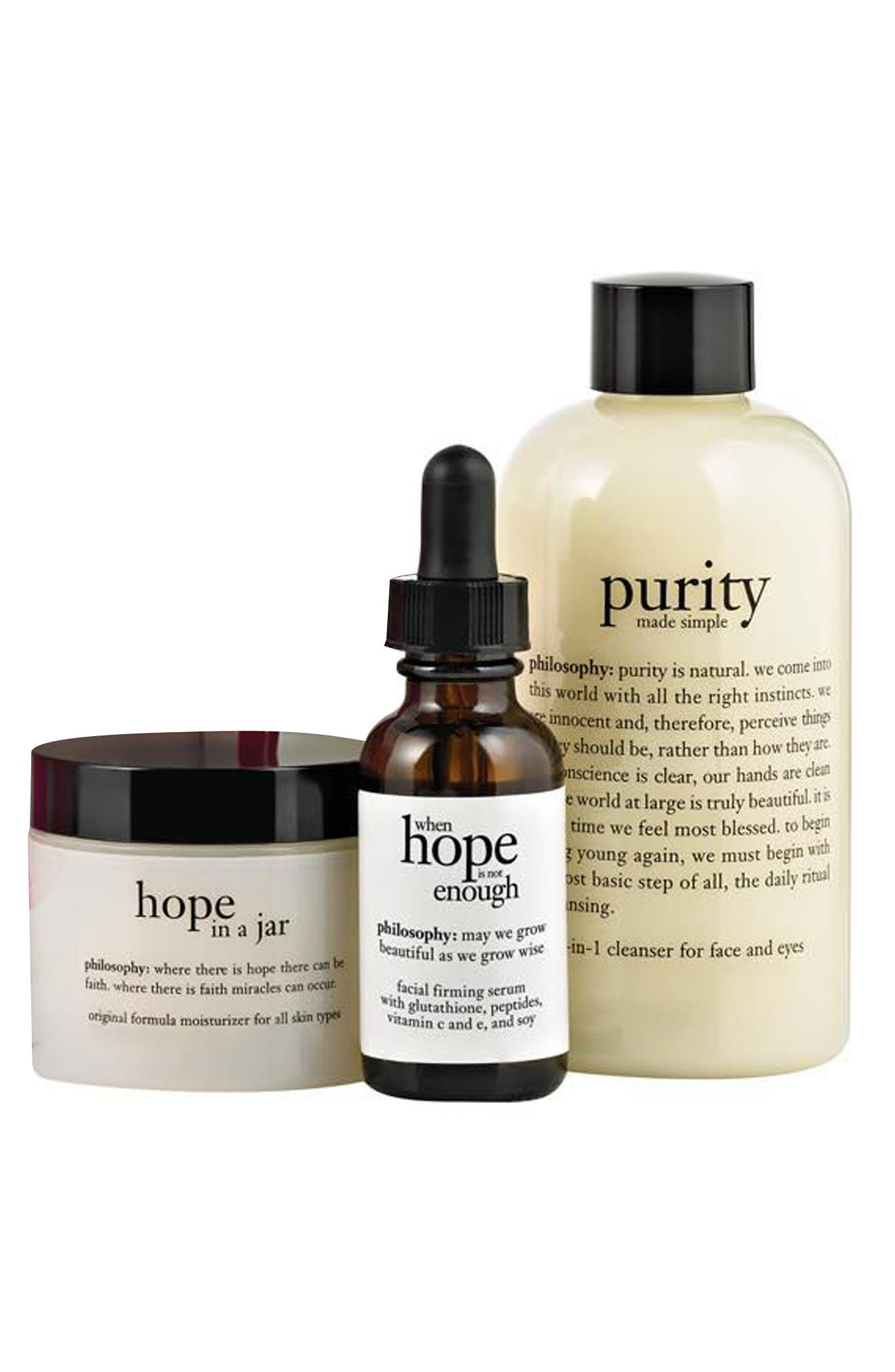 Alternate Image 2  - philosophy 'radiant & refined' skincare set ($102 Value)
