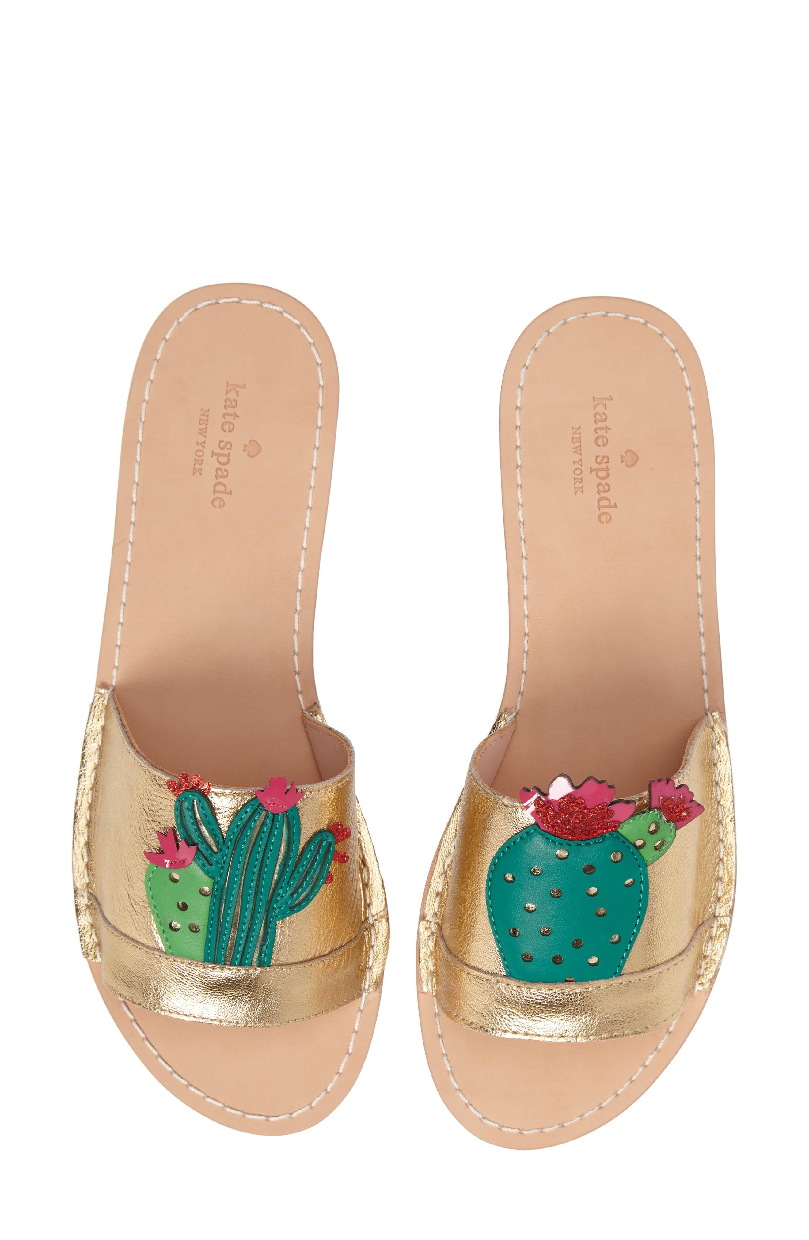 Alternate Image 4  - kate spade new york iguana slide sandal (Women)