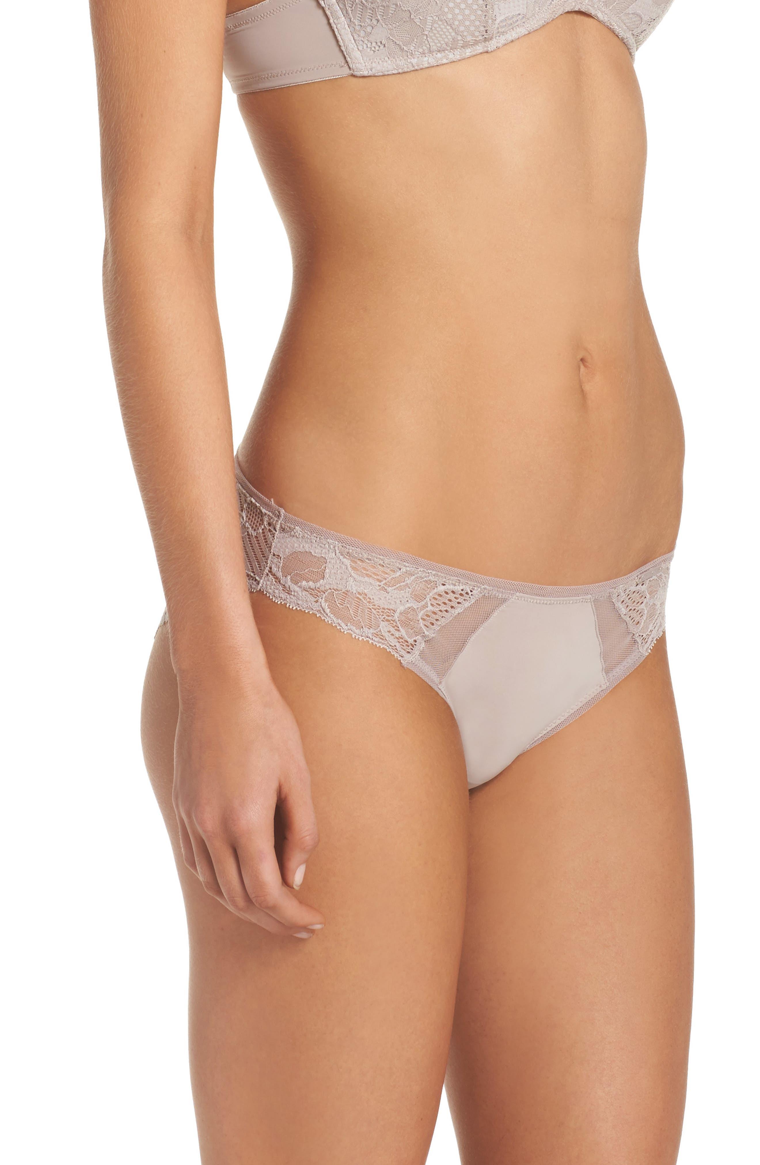 Alternate Image 3  - Calvin Klein Linger Bikini