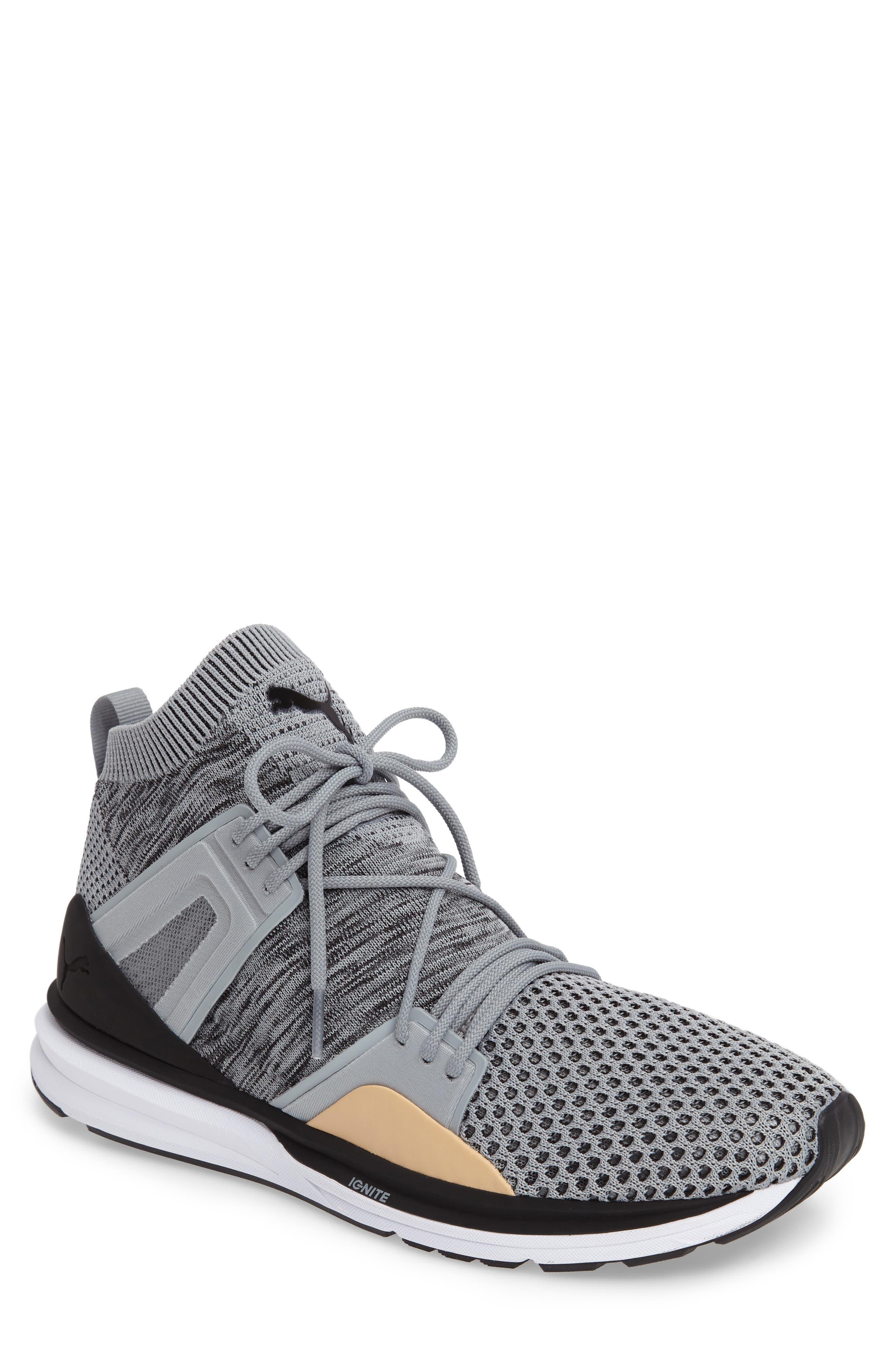 PUMA B.O.G. Limitless Hi evoKNIT Sneaker (Men)