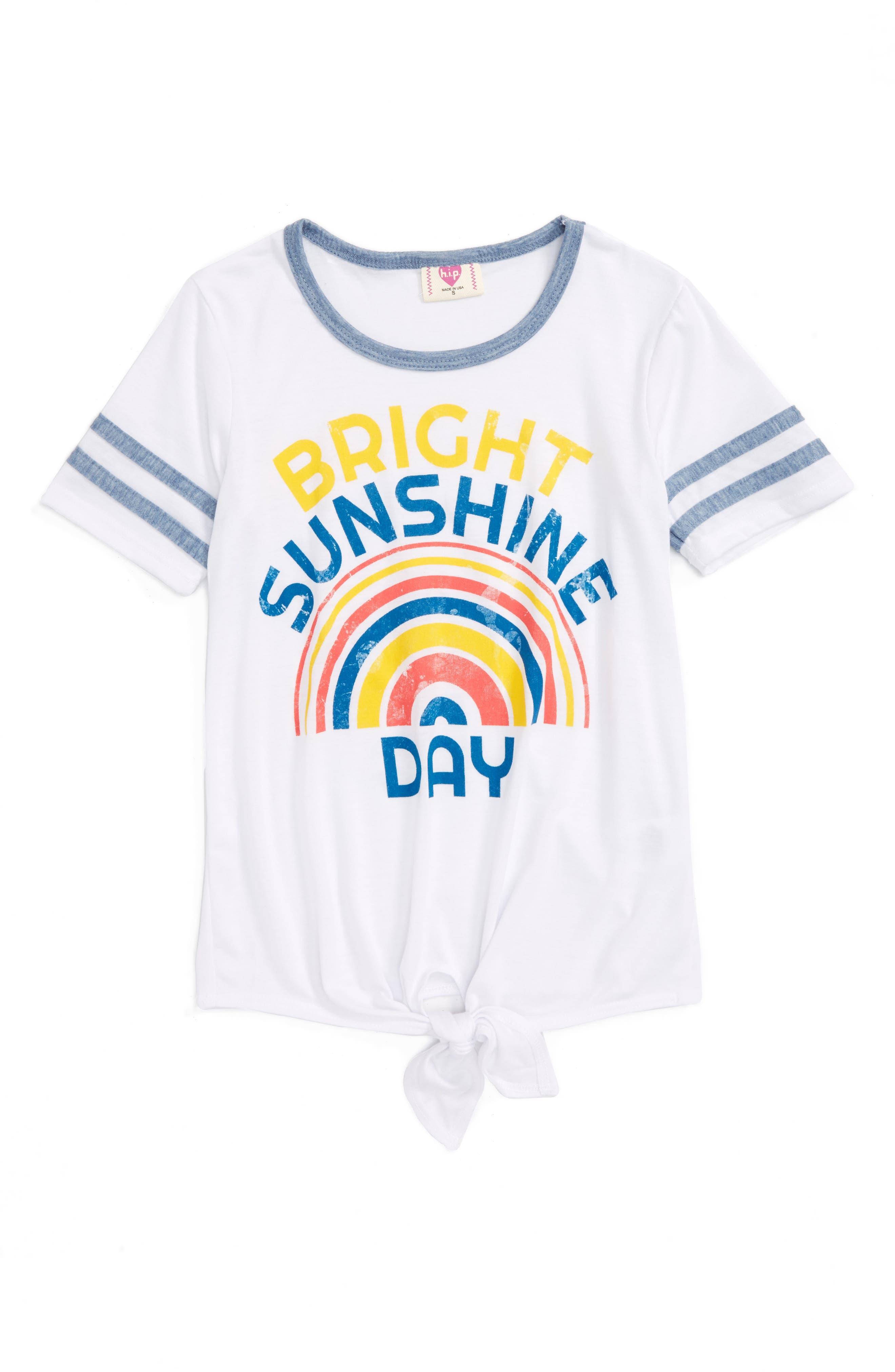 h.i.p. Bright Sunshine Day Tee (Big Girls)