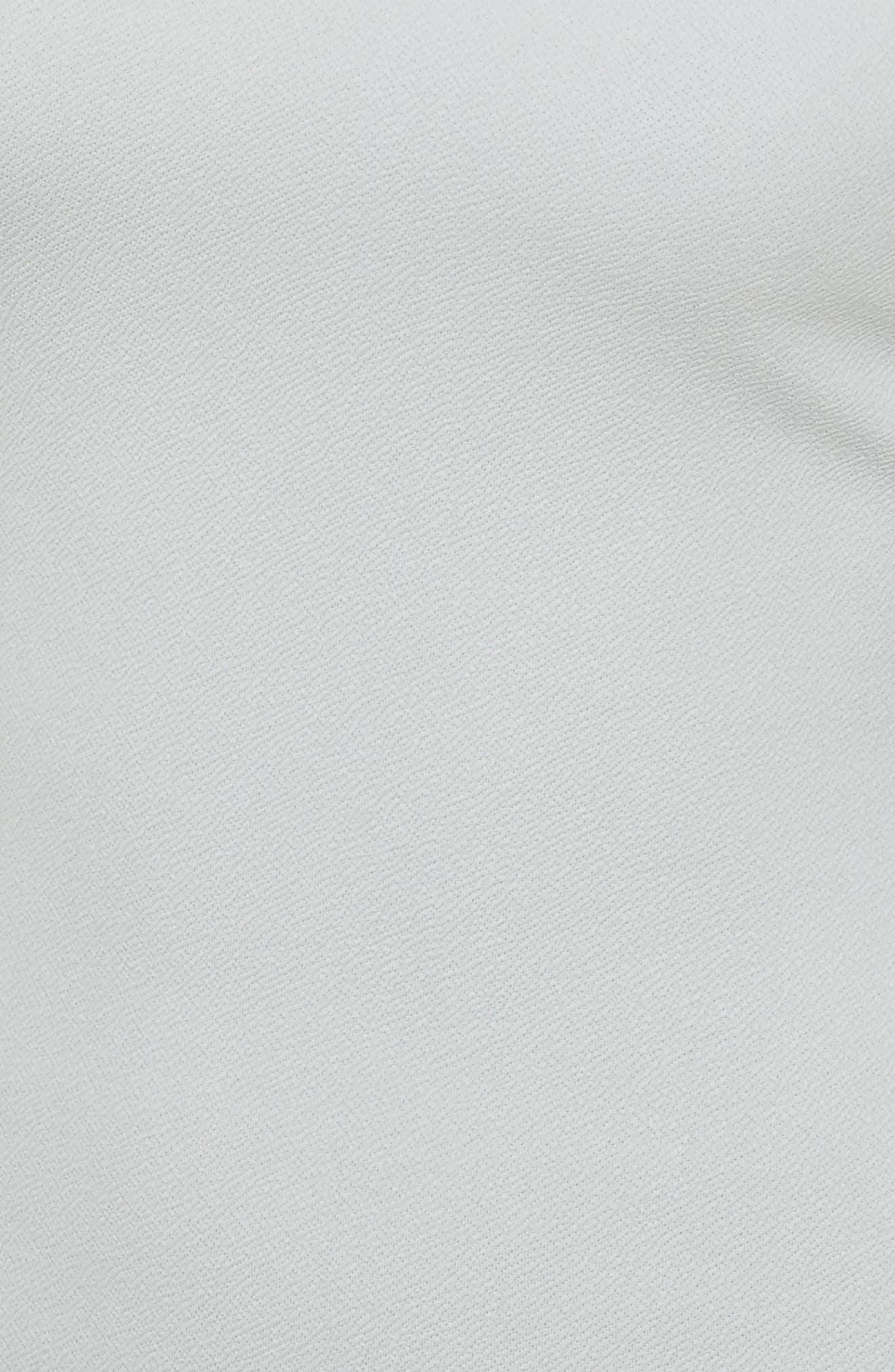 Alternate Image 4  - Missguided Bardot Stretch Crepe Off the Shoulder Dress