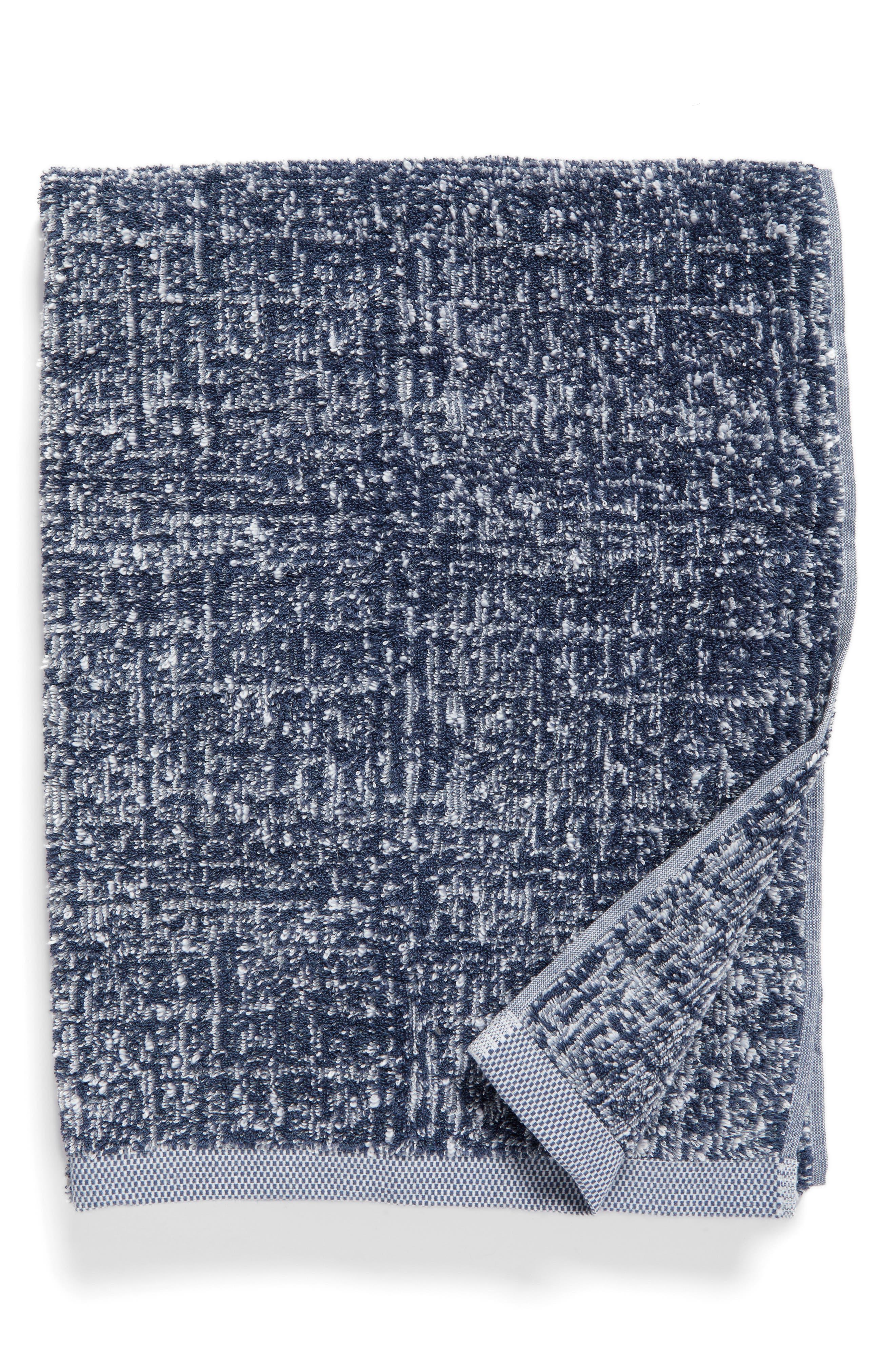 Nordstrom at Home Tweed Jacquard Bath Towel