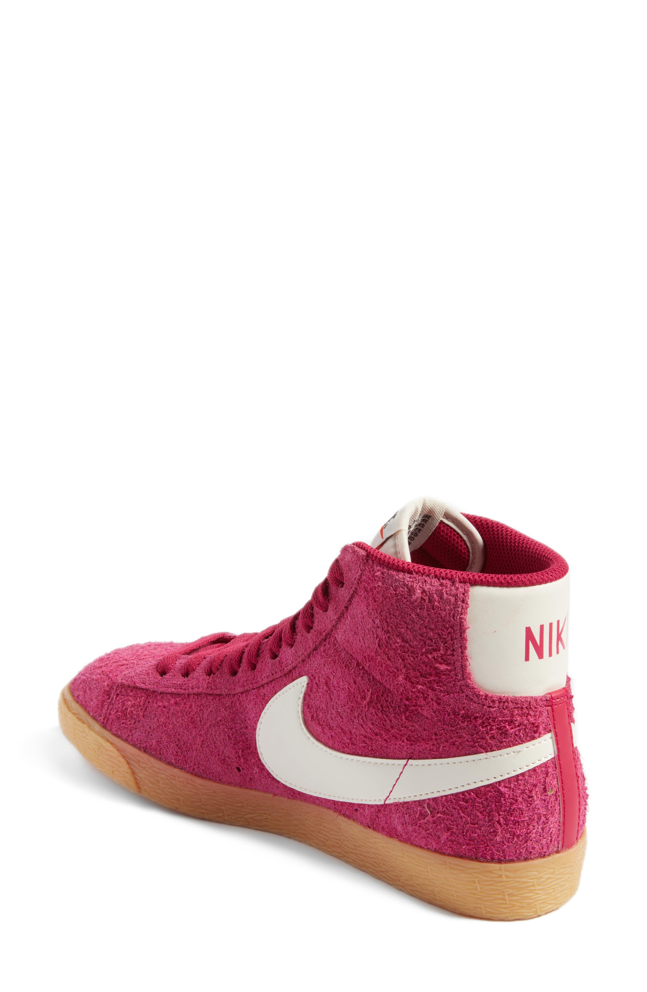 Alternate Image 2  - Nike 'Blazer' Vintage High Top Basketball Sneaker (Women)