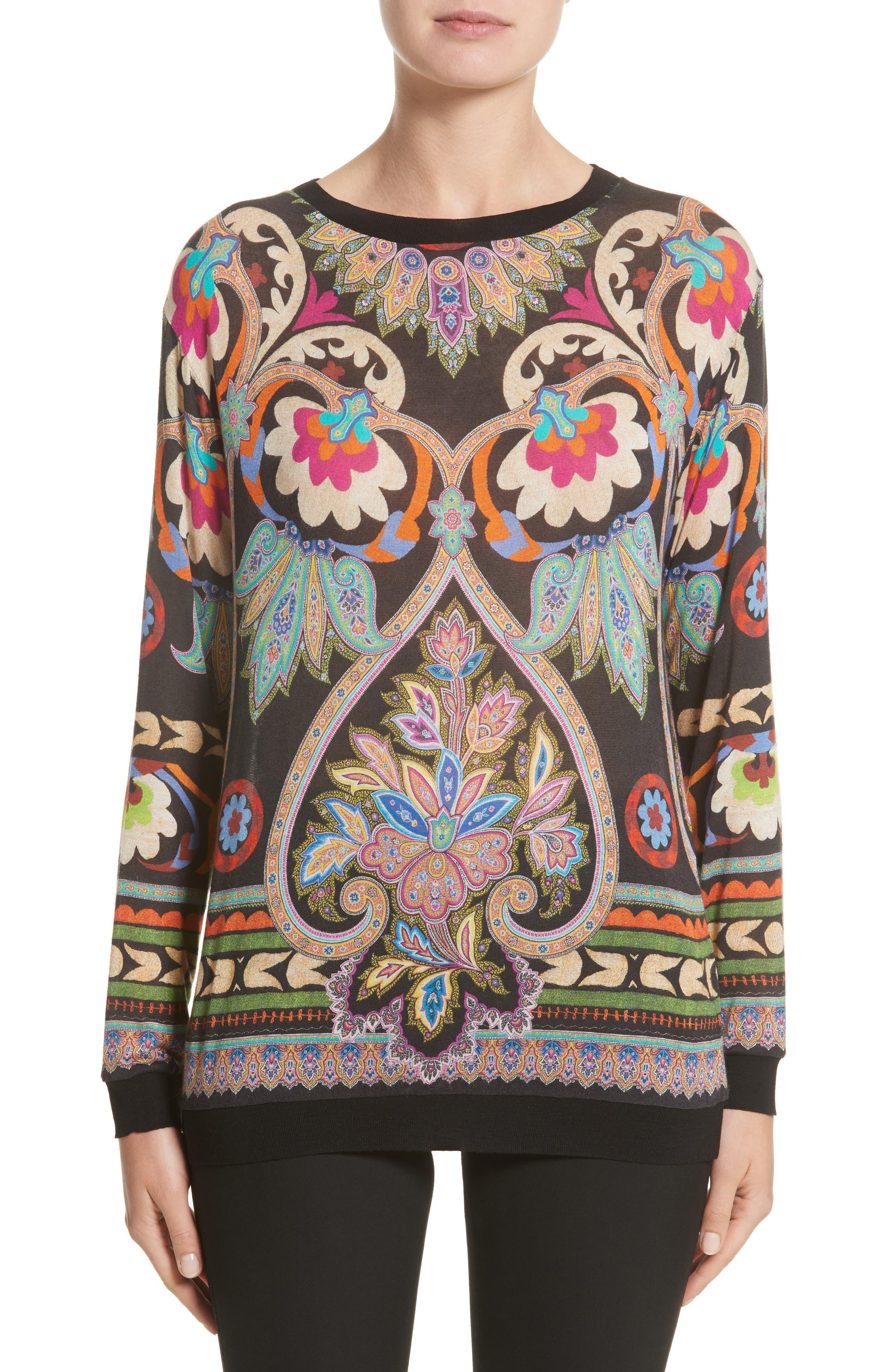 Etro Print Sweater