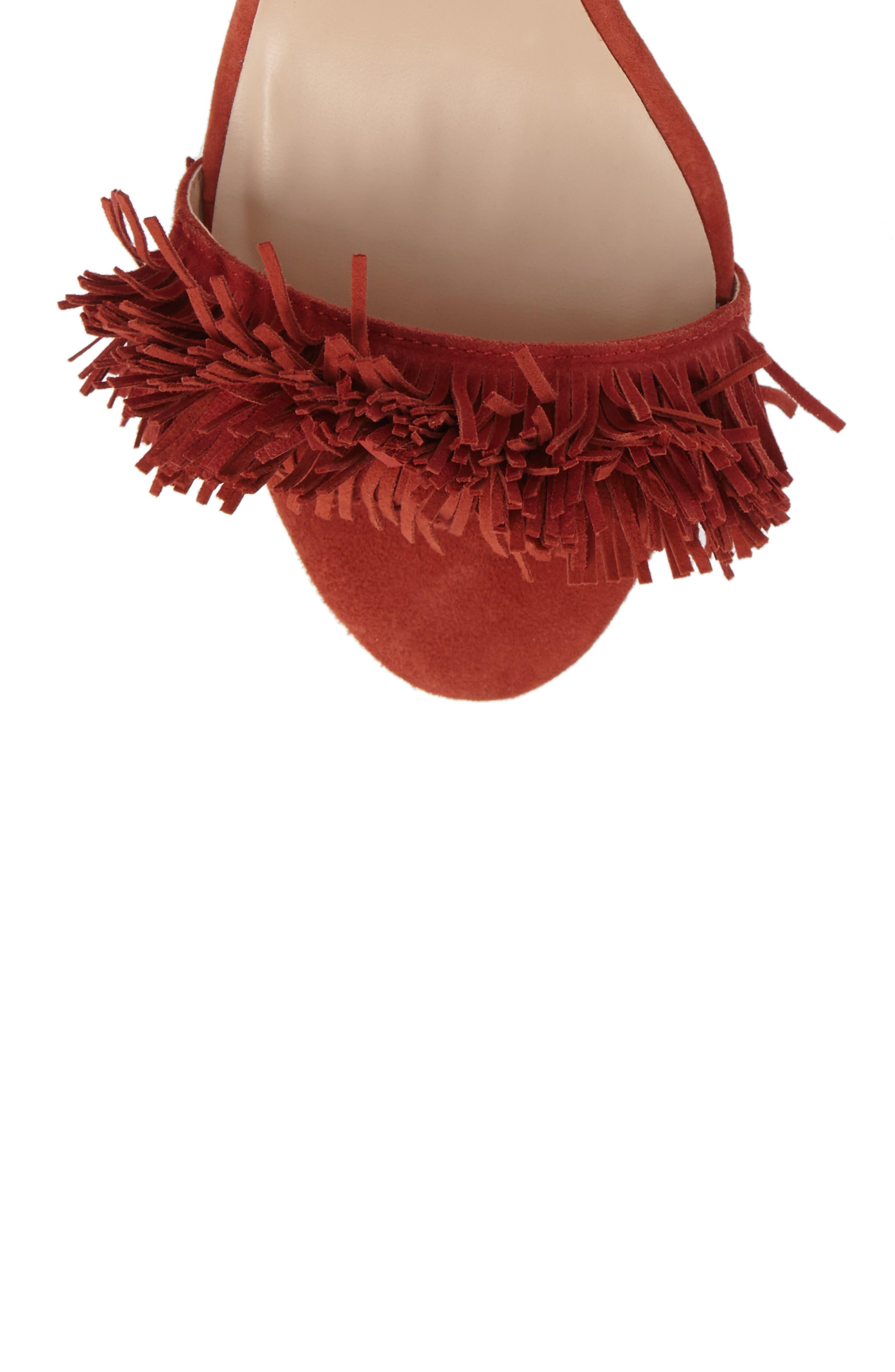 Alternate Image 5  - Sole Society Rosea Ankle Wrap Sandal (Women)