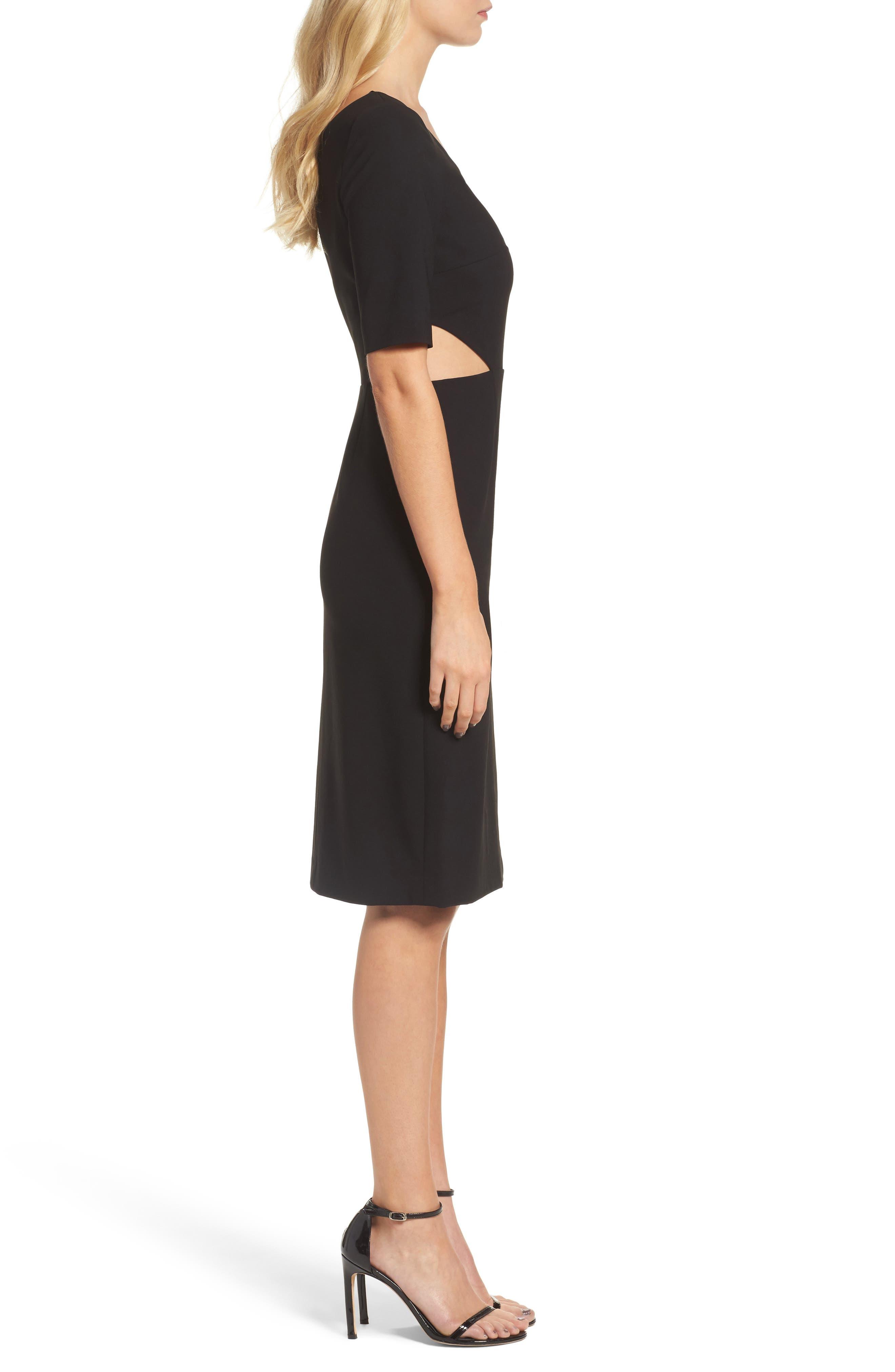 Alternate Image 3  - Jill Jill Stuart One-Shoulder Sheath Dress