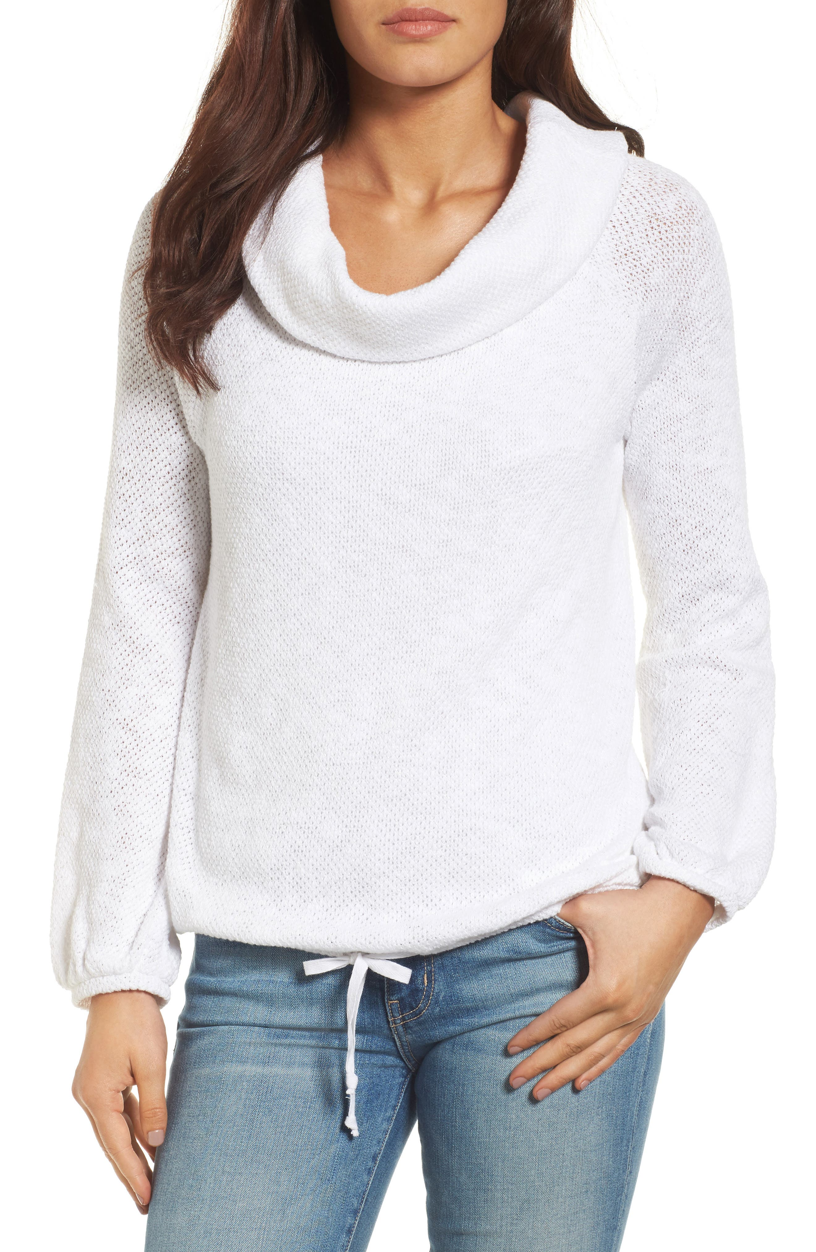 CASLON® Convertible Off the Shoulder Pullover