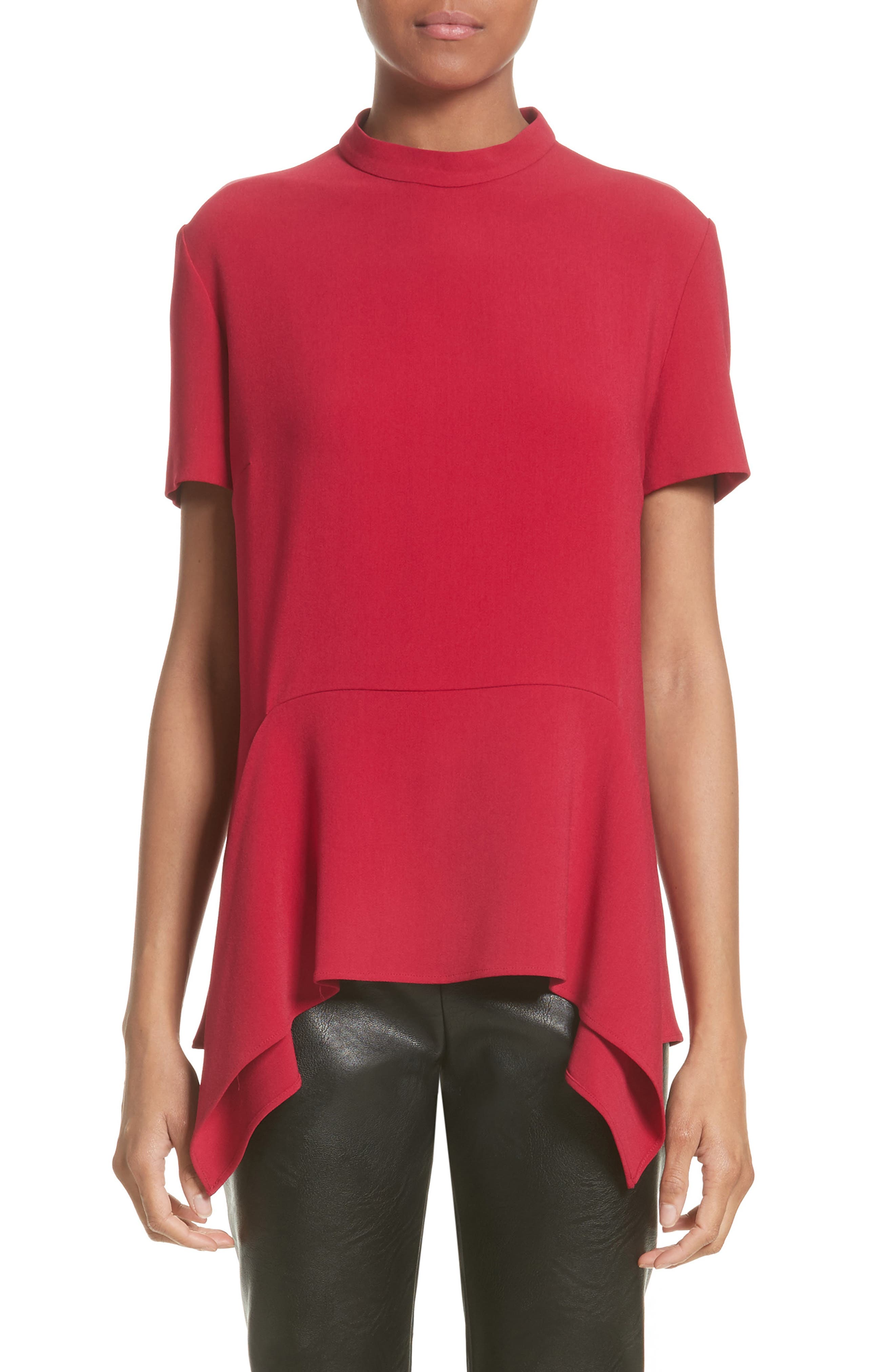 Stella McCartney Ruffle Hem Top