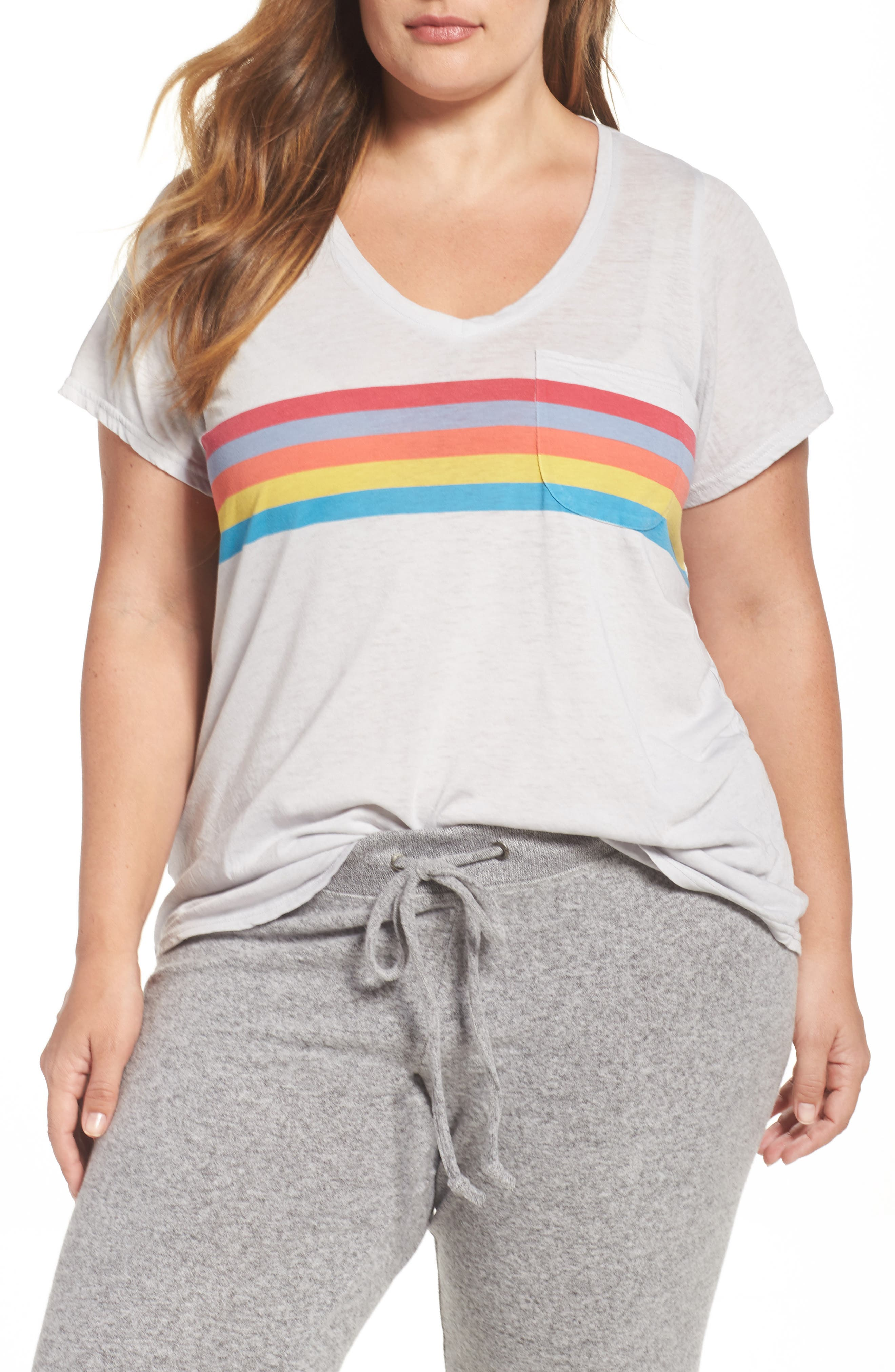 Make + Model 'Gotta Have It' V-Neck Tee (Plus Size) (2 for $39)