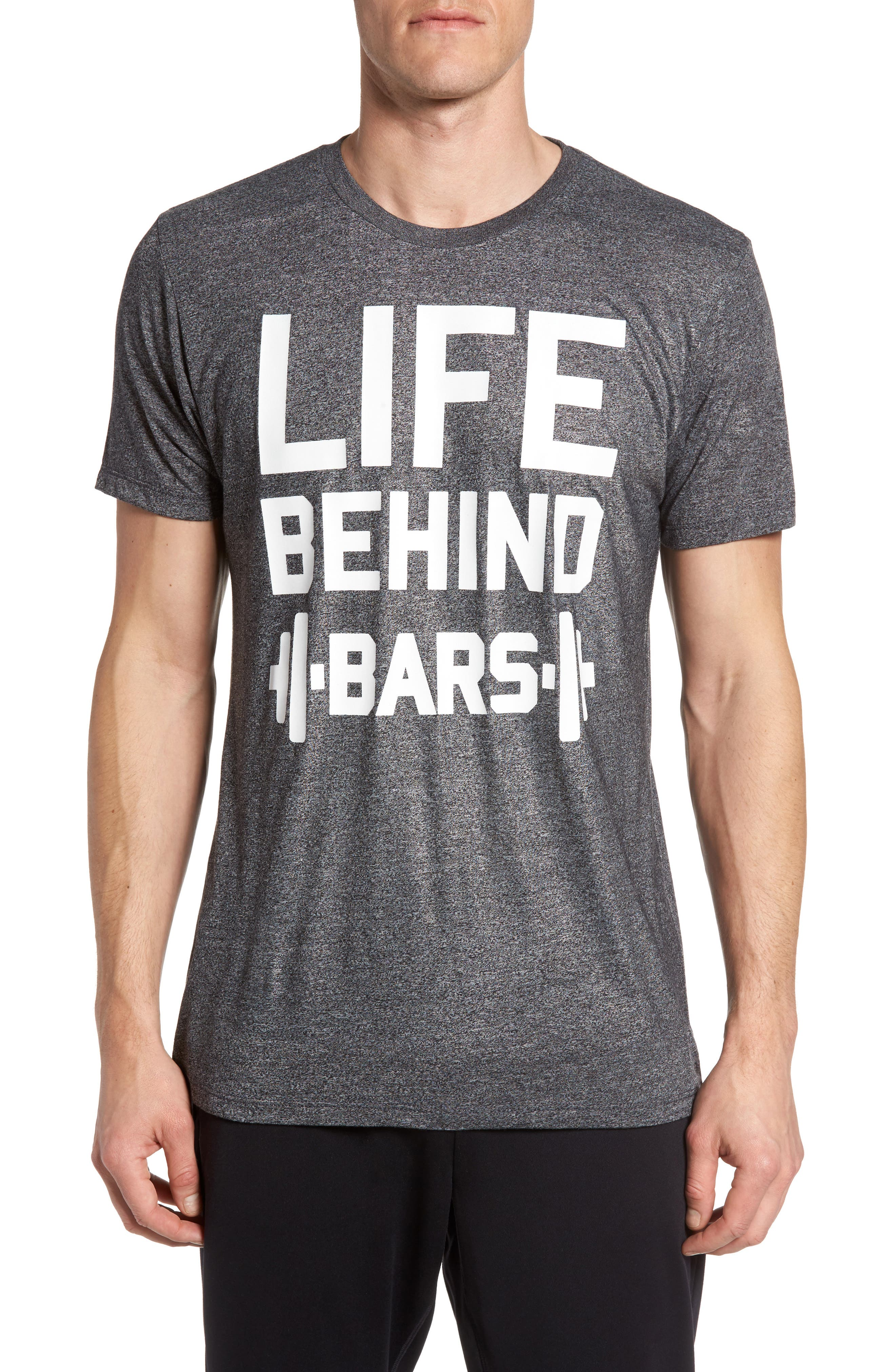 Zella Life Behind Bars Graphic T-Shirt