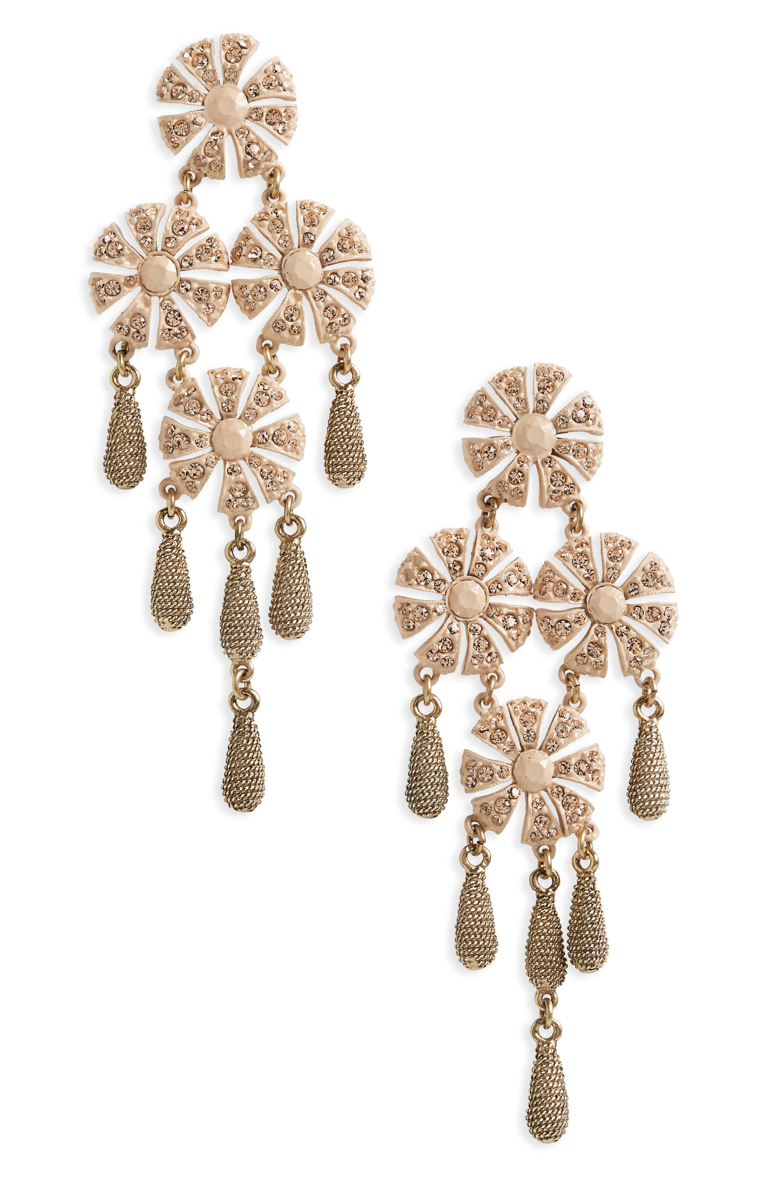 Loren Hope Jasmine Chandelier Earrings