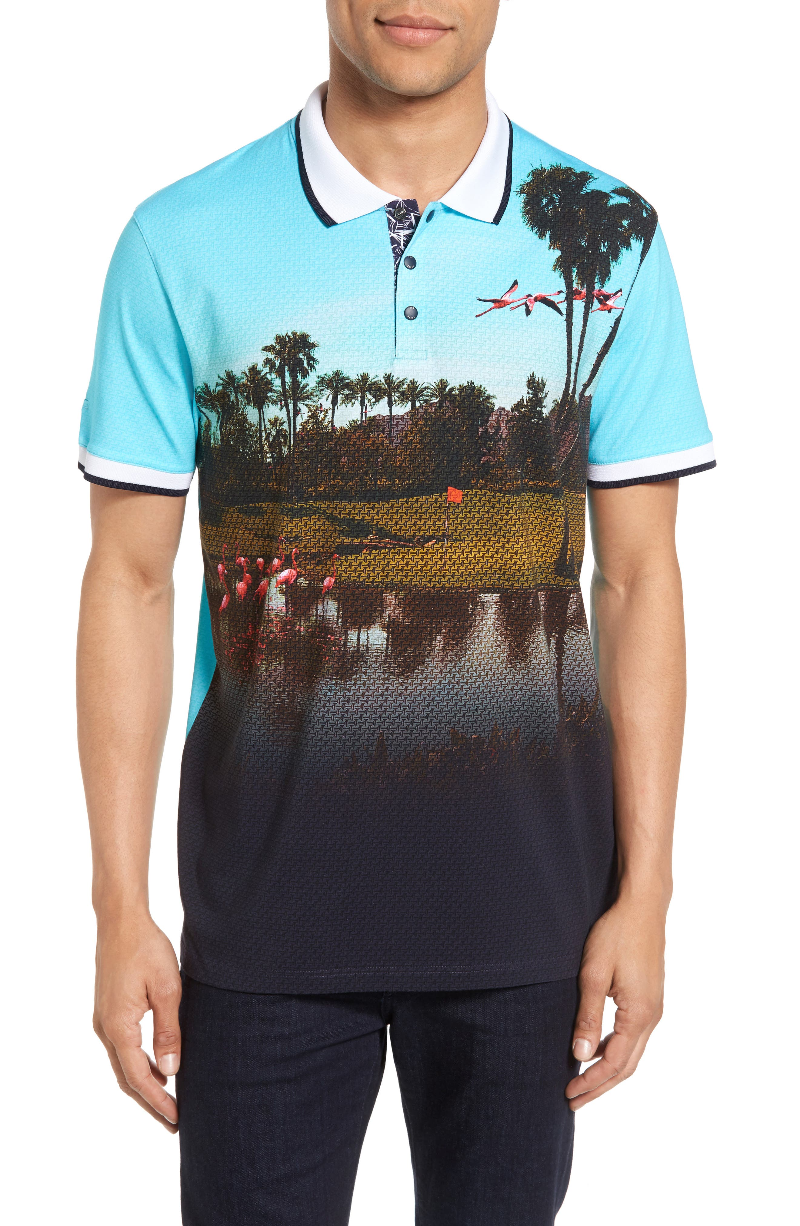 Ted Baker London Dormie Golf Polo