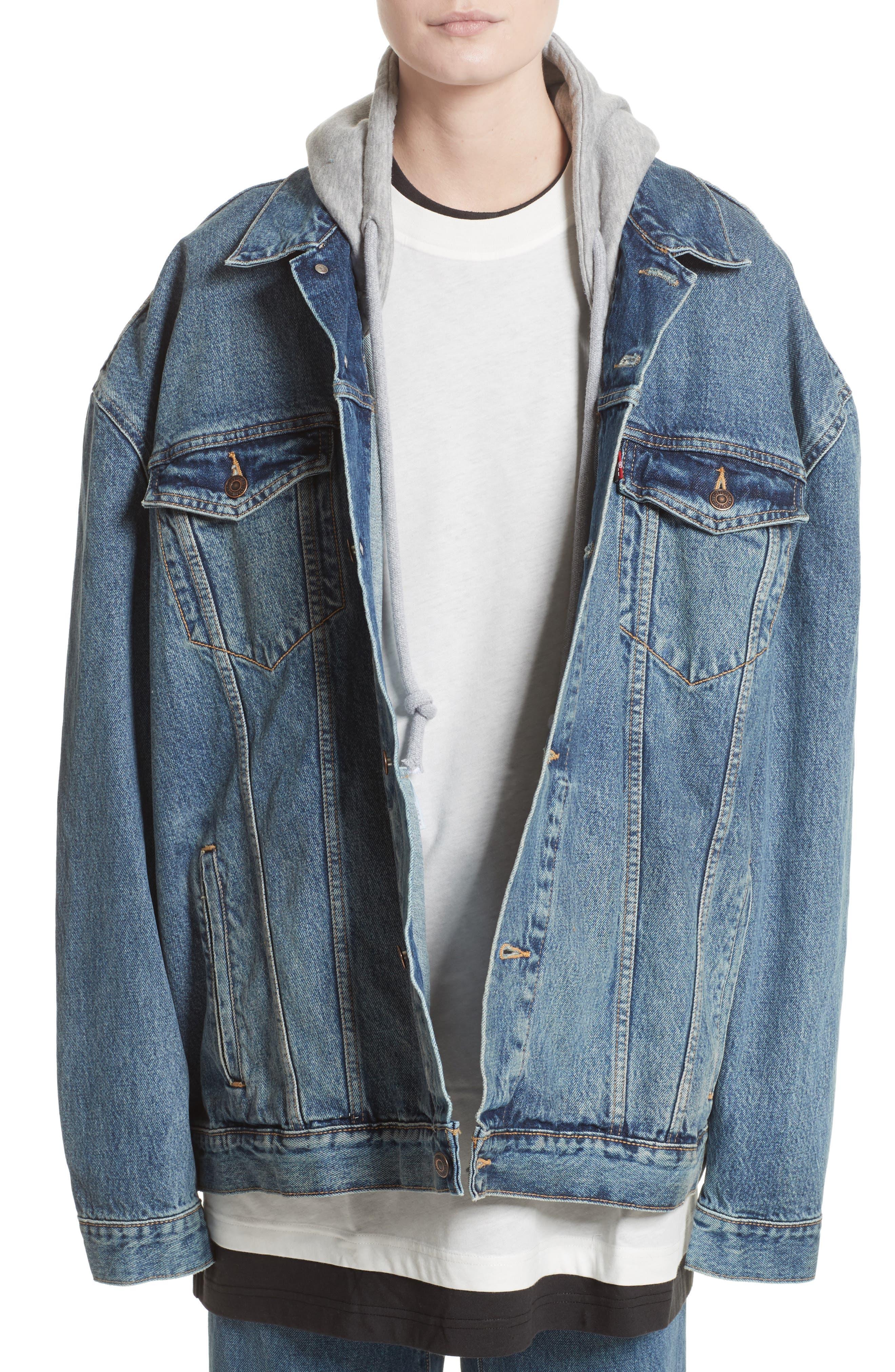 Alternate Image 1 Selected - Vetements x Levi's® Denim Jacket