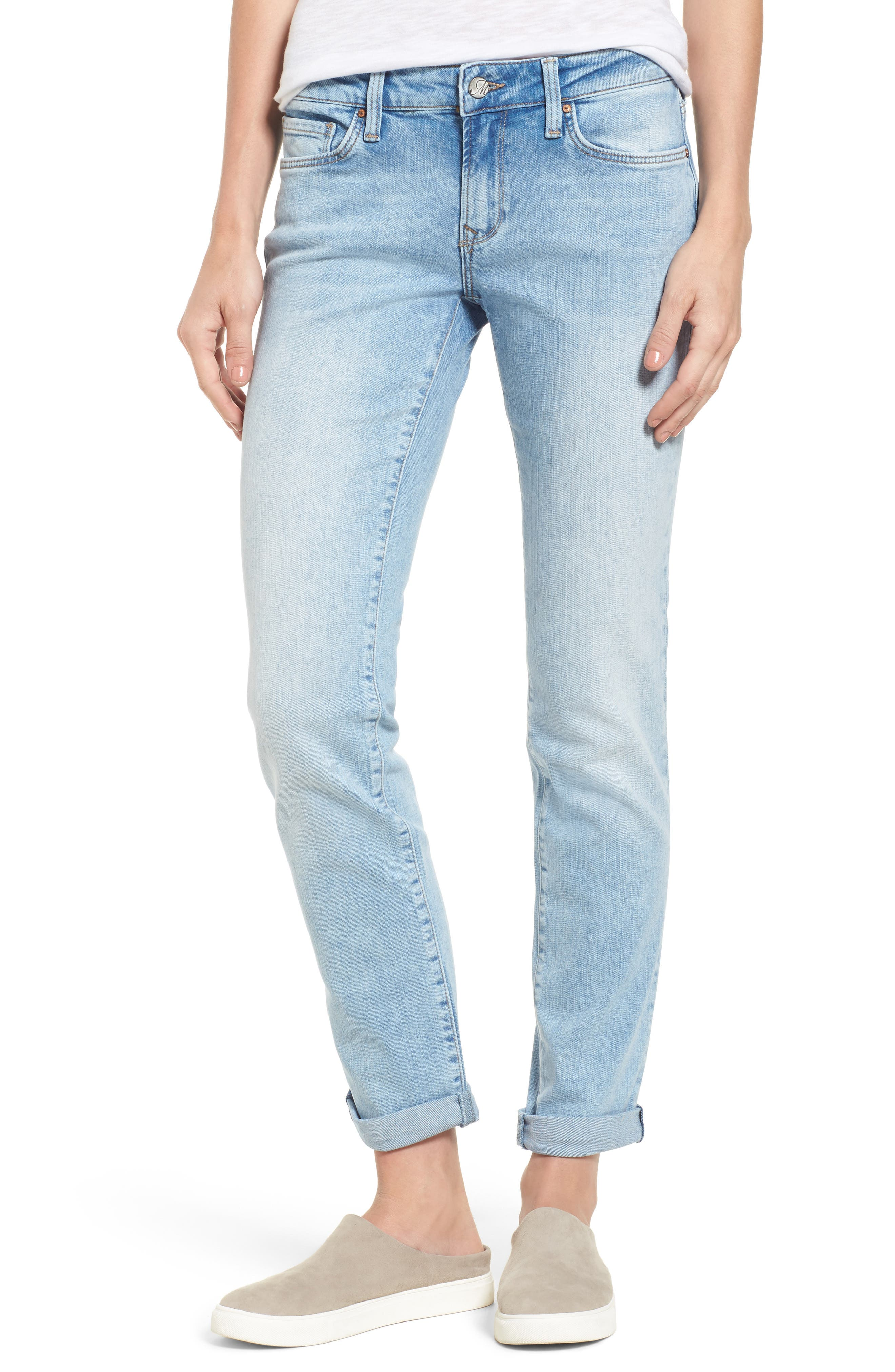 Mavi Jeans Emma Slim Boyfriend Jeans (Light Vintage)