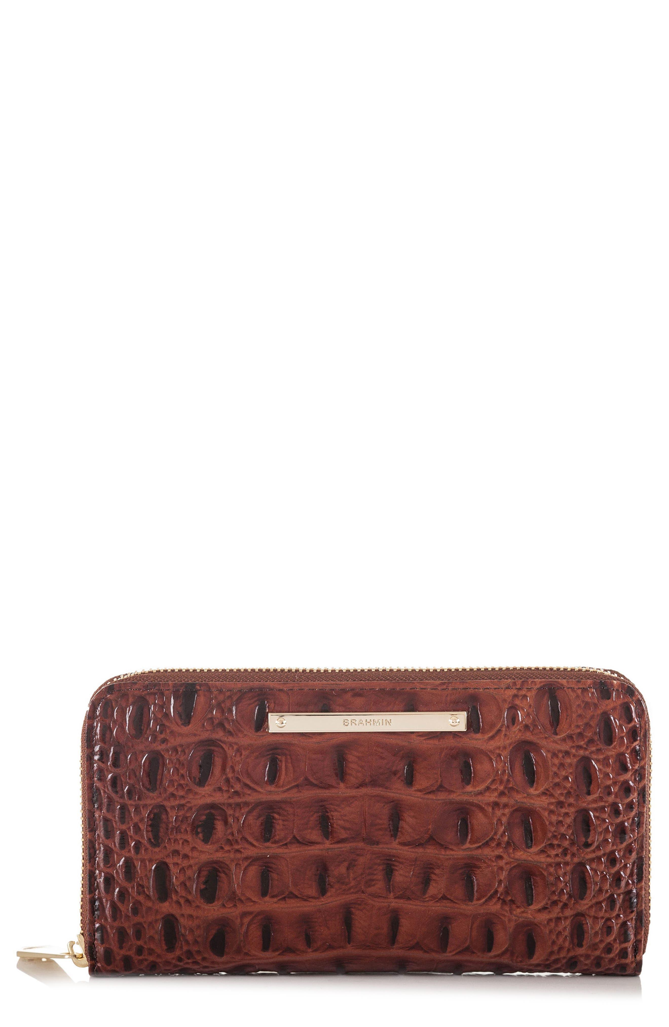 Main Image - Brahmin 'Suri' Zip Around Wallet