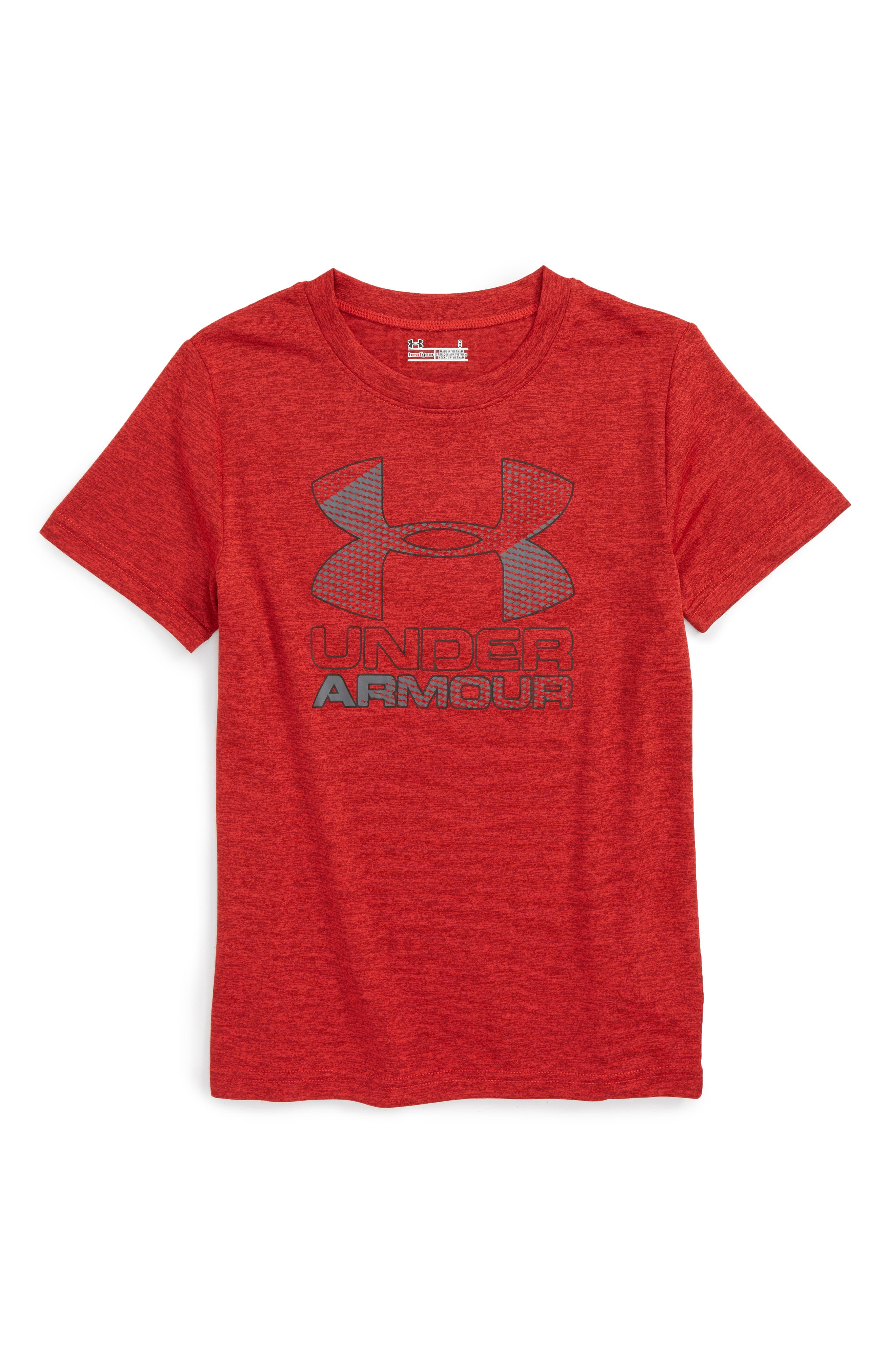 Under Armour Logo HeatGear® Shirt (Toddler Boys & Little Boys)