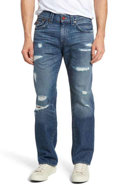 True Religion Brand Jeans Ricky Relaxed Fit Jeans (Razors Edge)