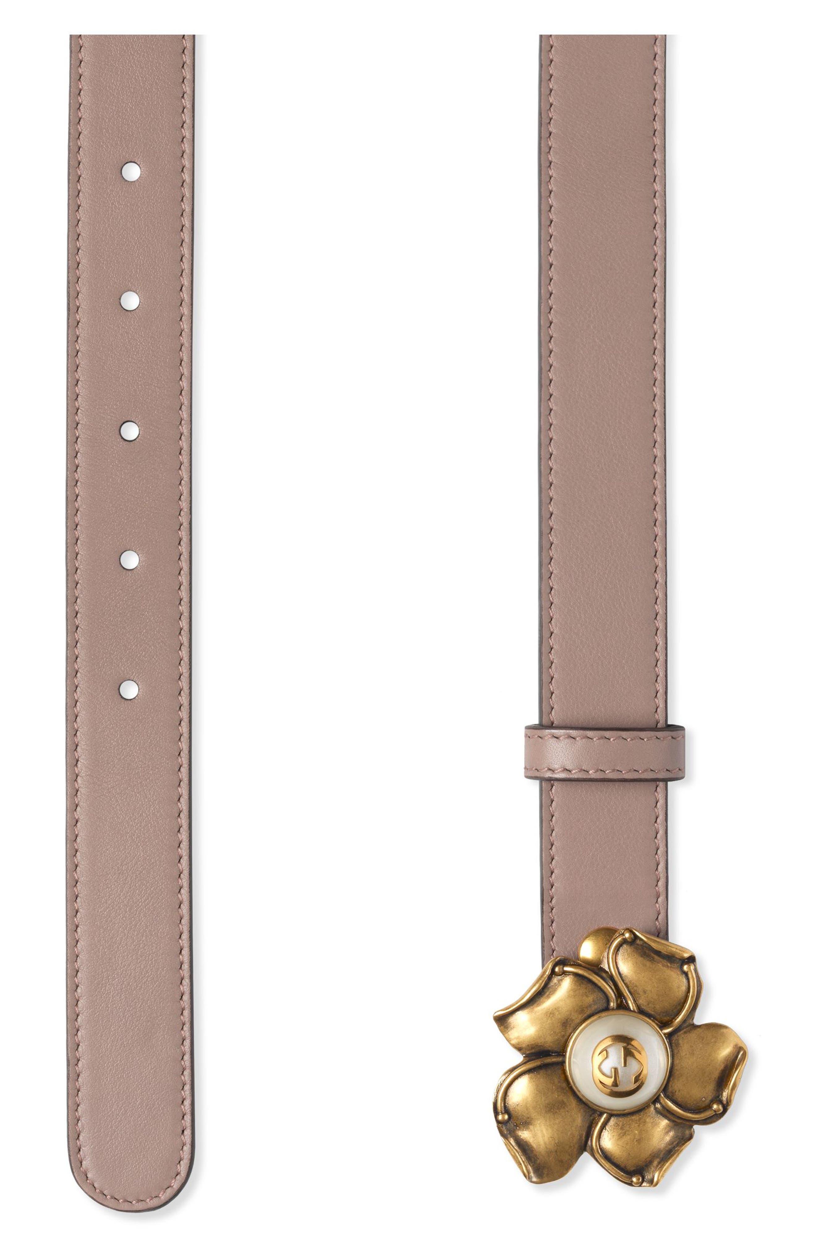 Alternate Image 2  - Gucci Leather Belt