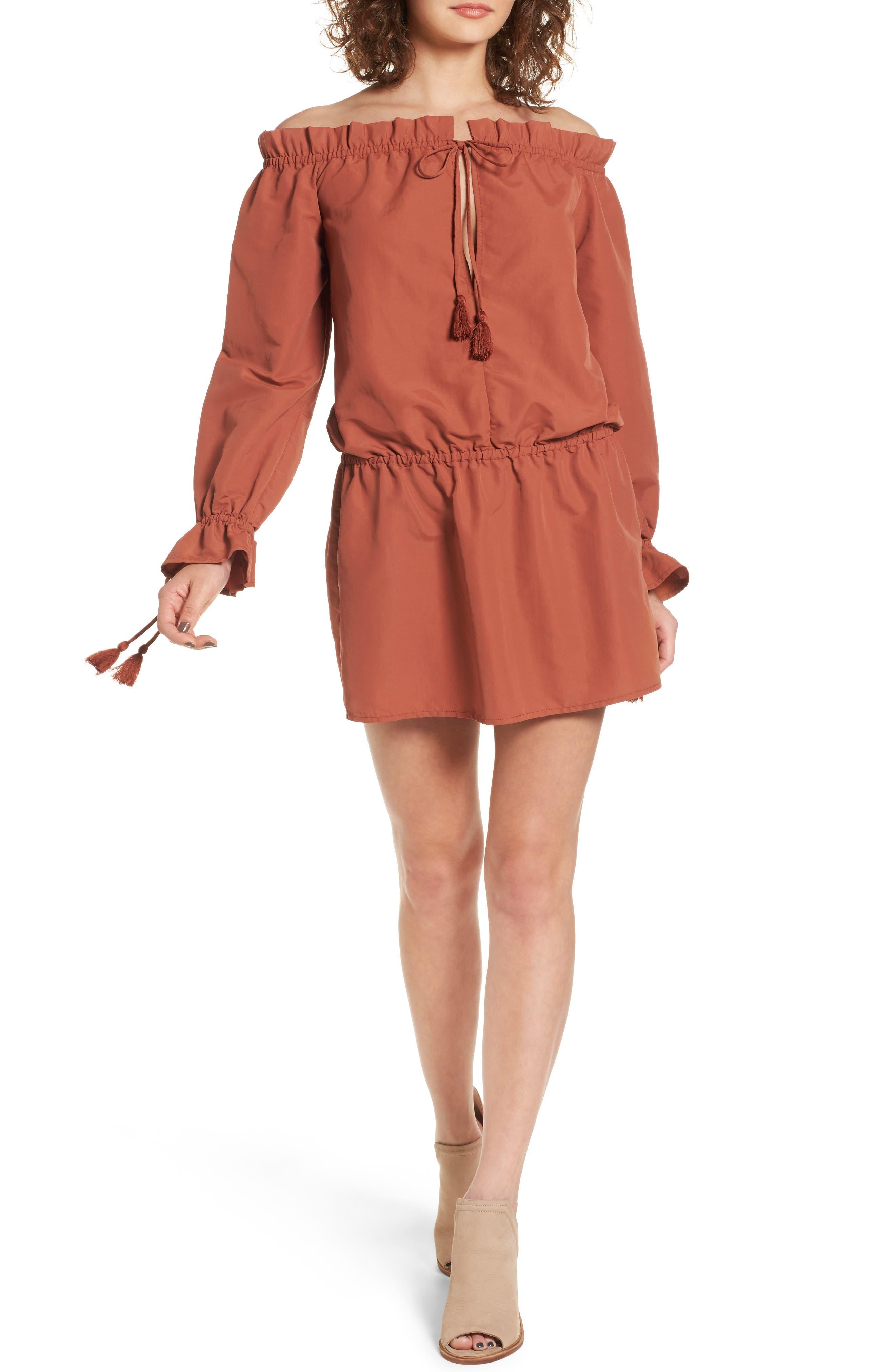 Tularosa Falon Off the Shoulder Dress