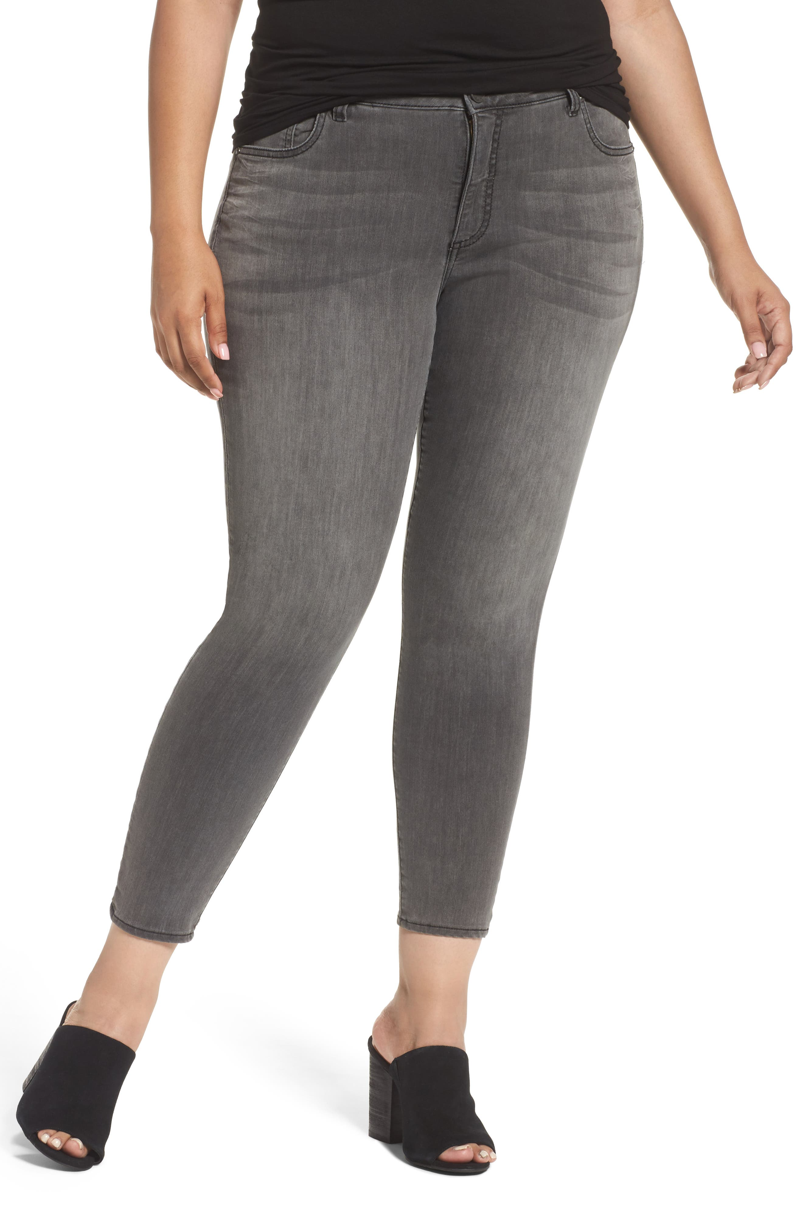 KUT from the Kloth Donna High Waist Skinny Jeans (Meritorious) (Plus Size)