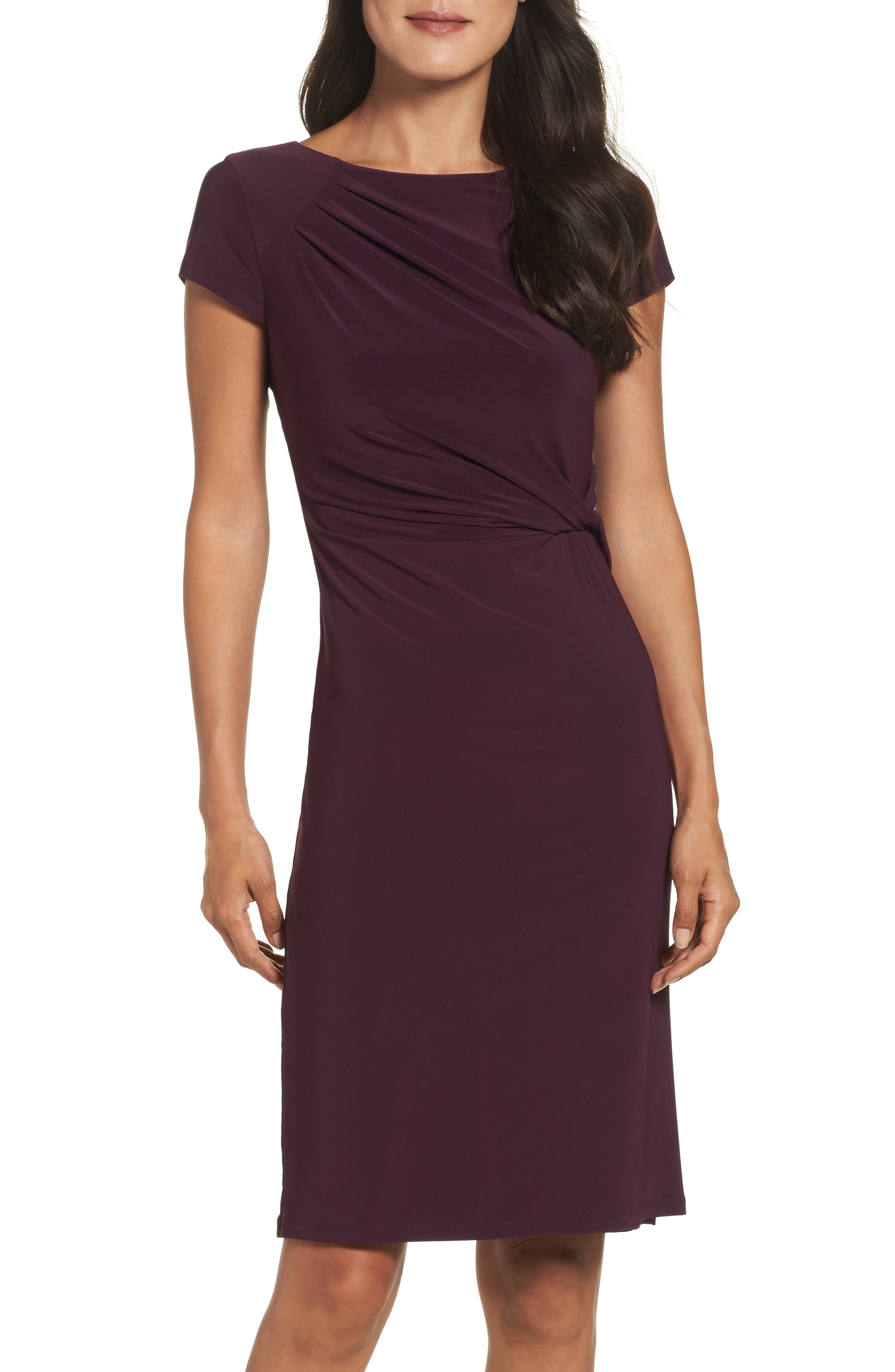 Eliza J Twist Waist Sheath Dress