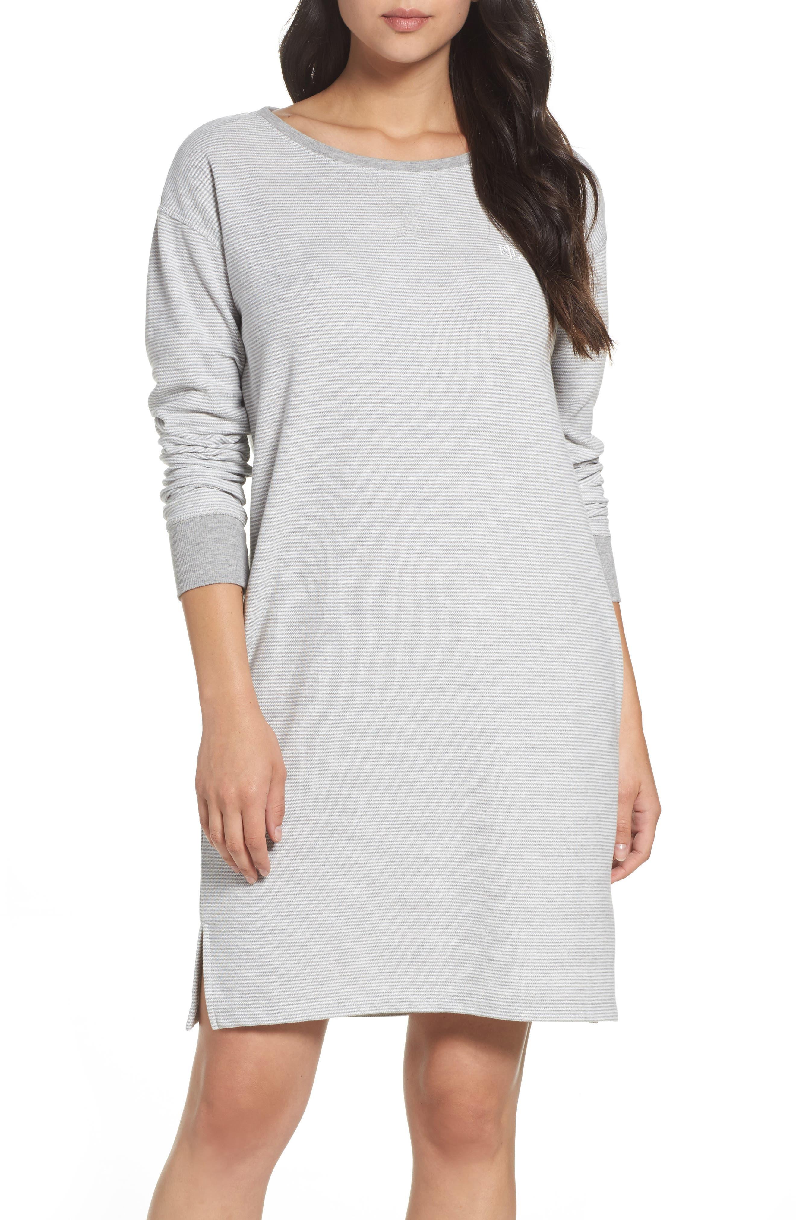 Main Image - Lauren Ralph Lauren Longline Lounge Sweatshirt