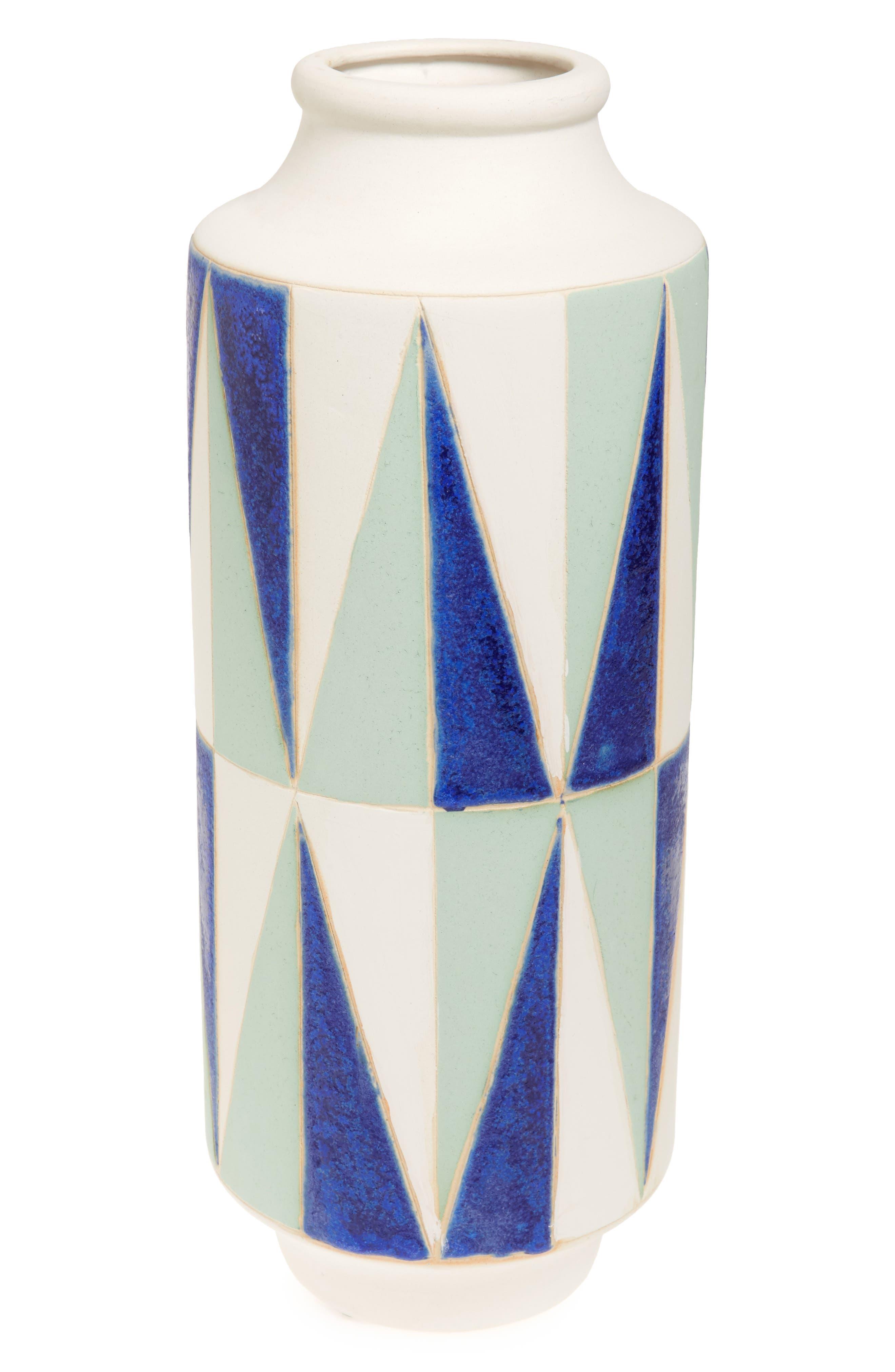 Shiraleah Geo Ceramic Vase