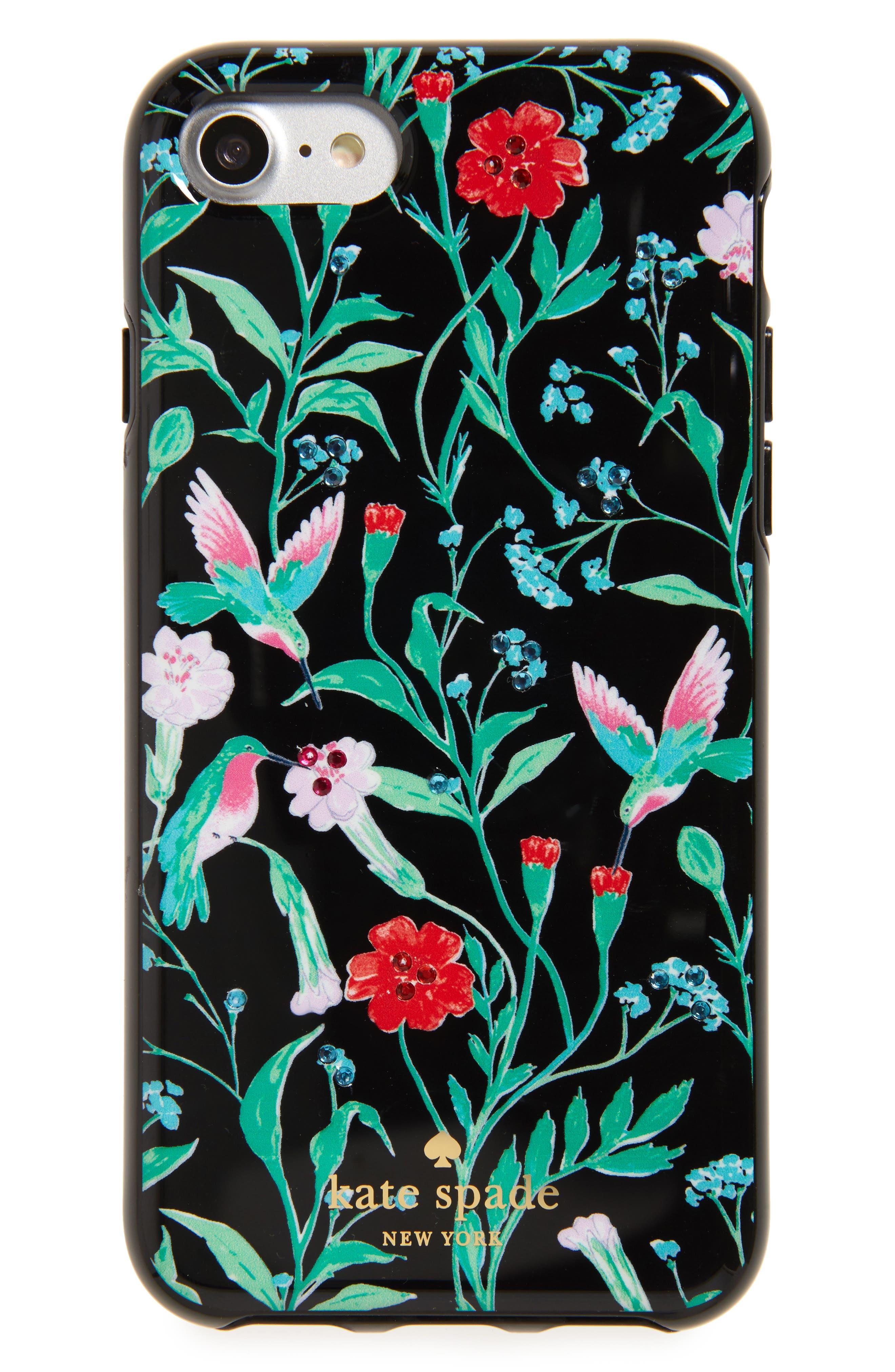 kate spade new york jeweled jardin iPhone 7 & 7 Plus case