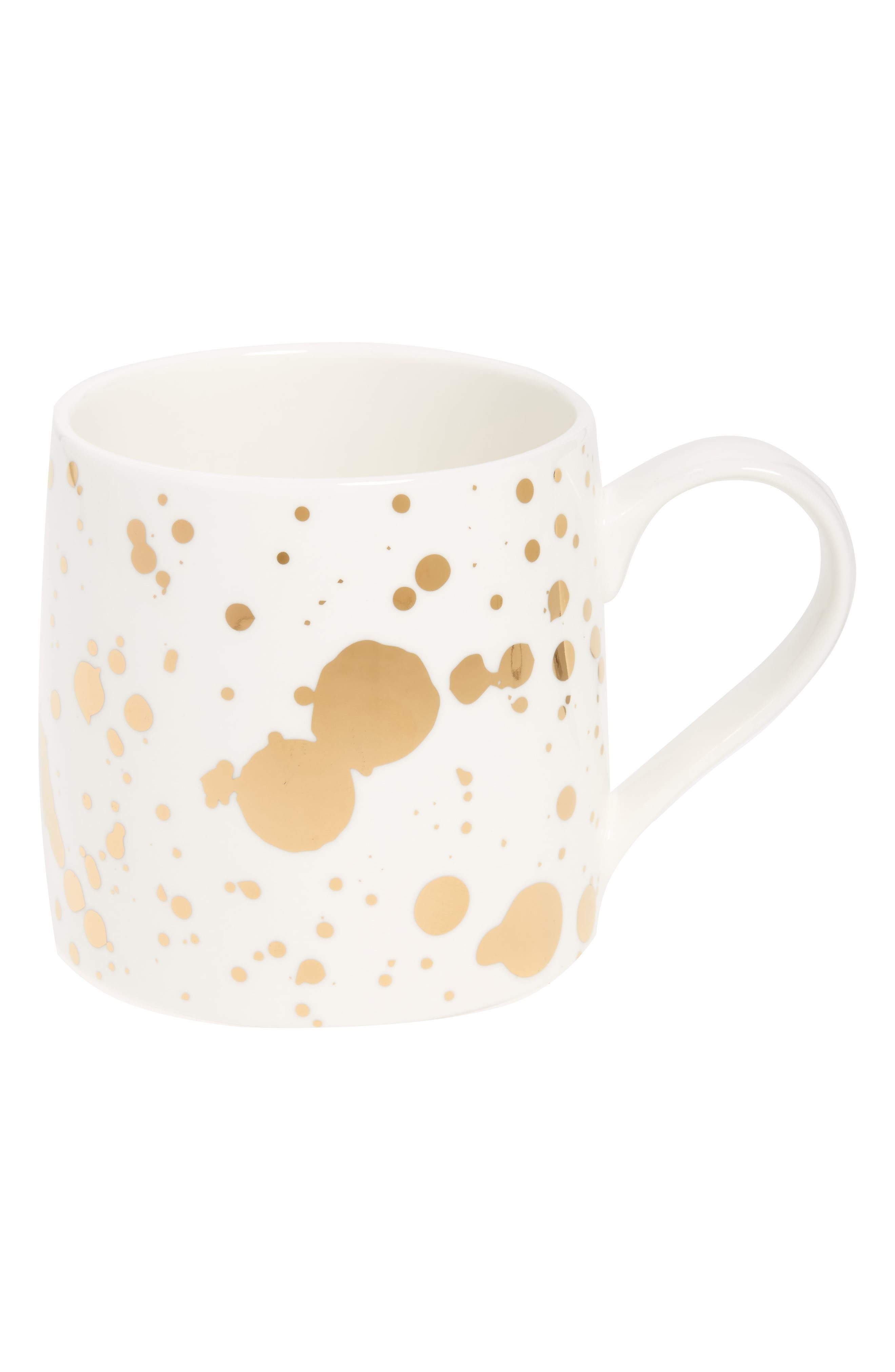 Slant Collections Paint Splatter Mug