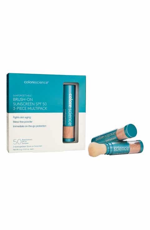 Colorescience® Sunforgettable® Brush-On Sunscreen SPF 50 Trio ($192 Value)