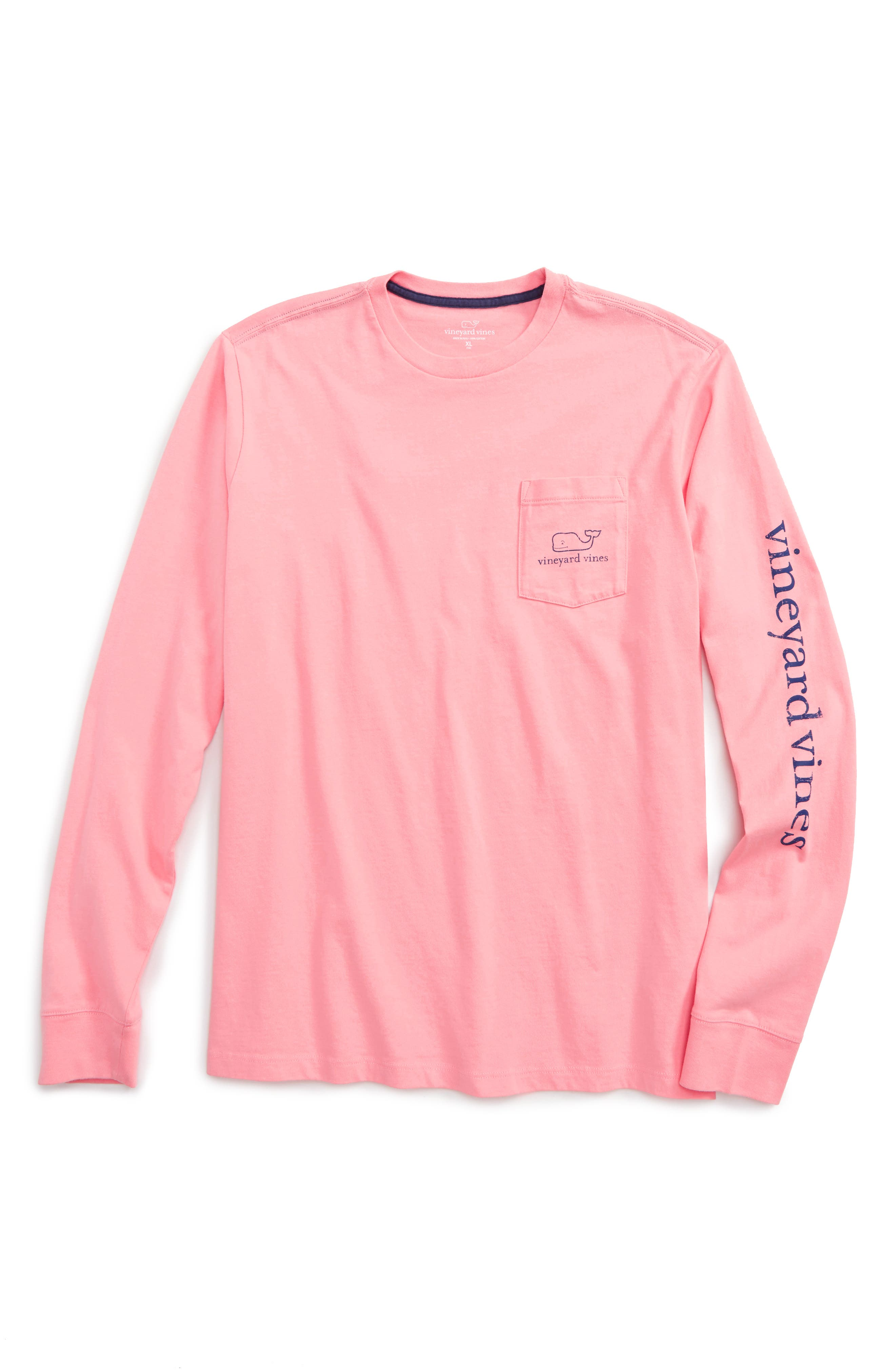 VINEYARD VINES Vintage Whale Graphic Long Sleeve T-Shirt
