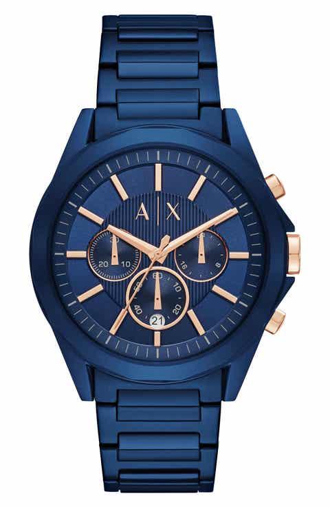 AX Armani Exchange Chronograph Bracelet Watch, 44mm