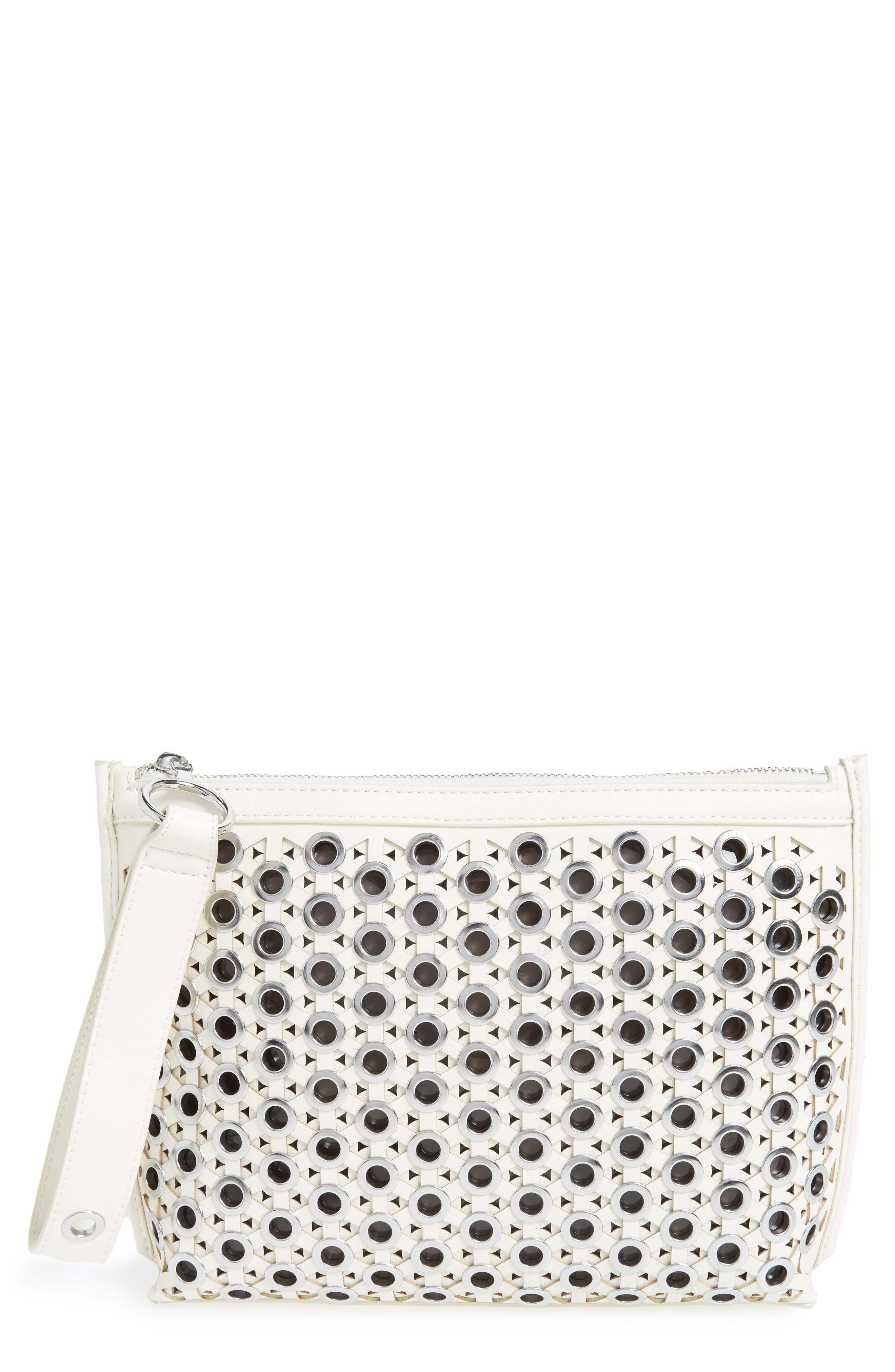 Sam Edelman Skyler Faux Leather Clutch