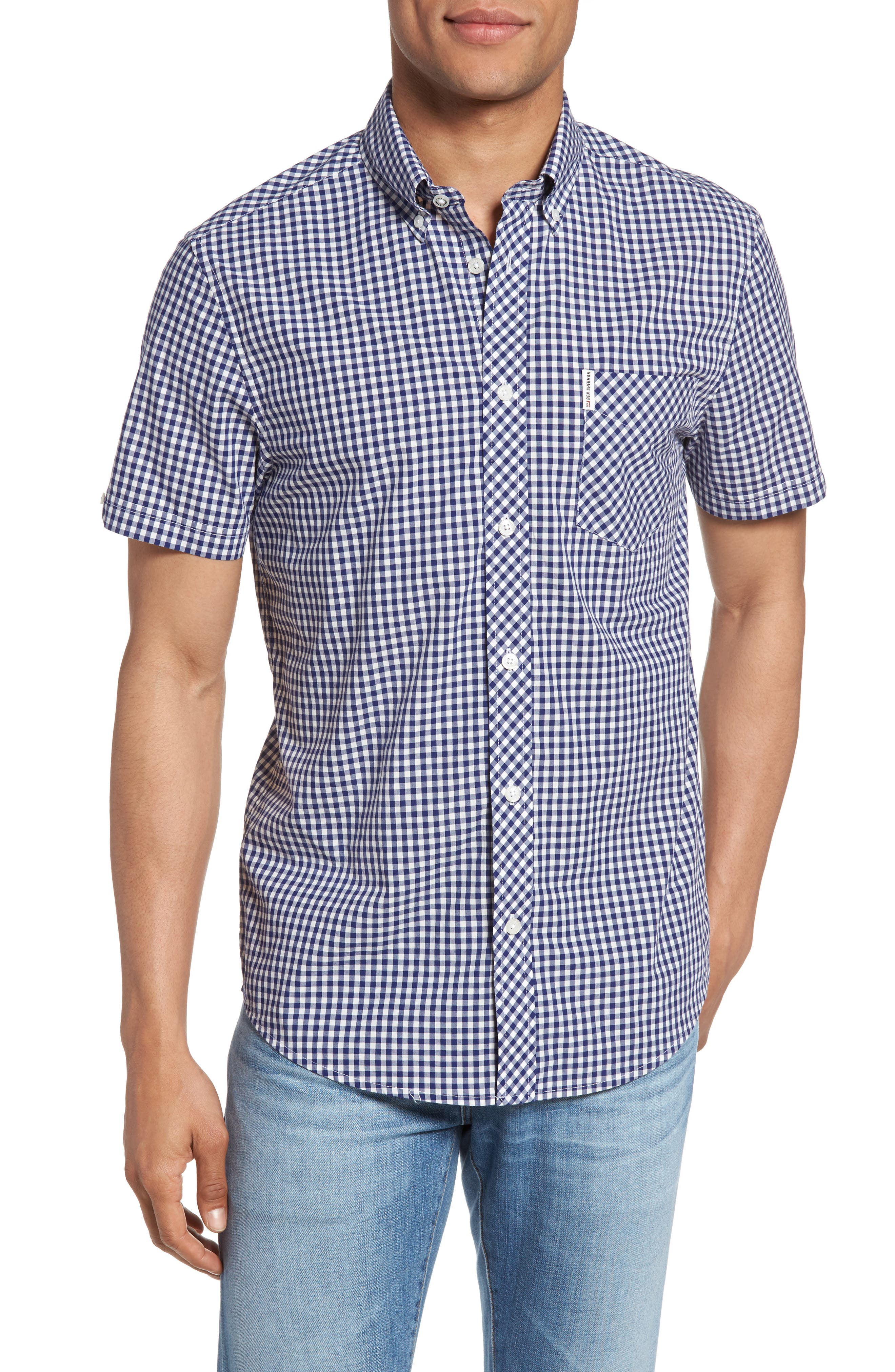Ben Sherman Core Mod Fit Gingham Shirt