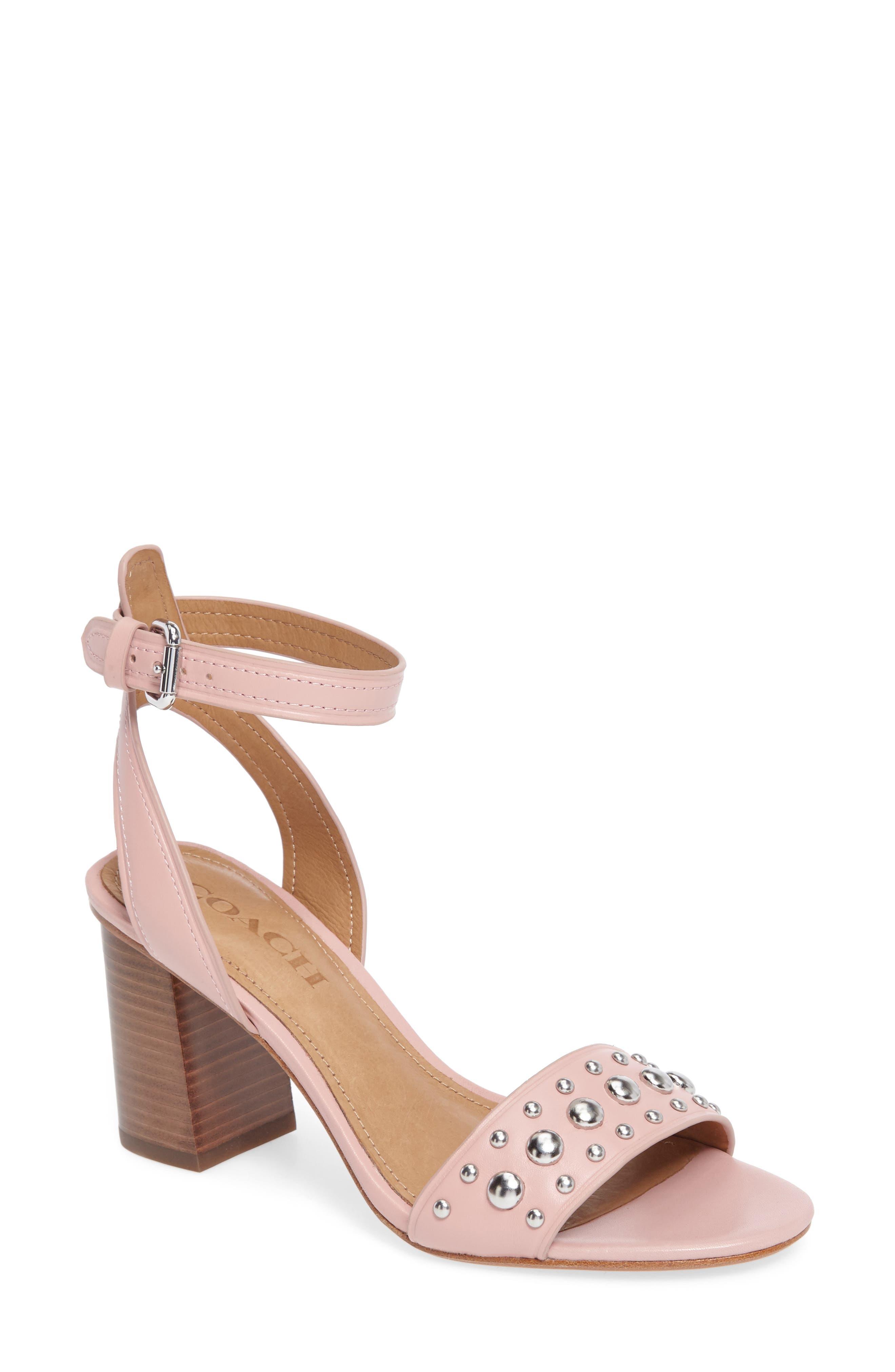 COACH Paige Block Heel Sandal (Women)