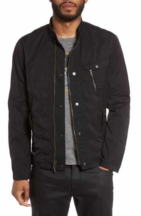John Varvatos Star USA Stand Collar Bomber Jacket