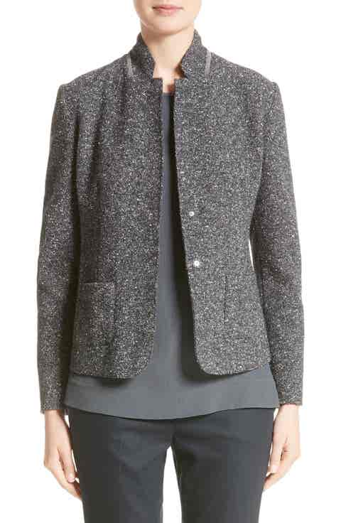Fabiana Filippi Pebble Tweed Knit Jacket