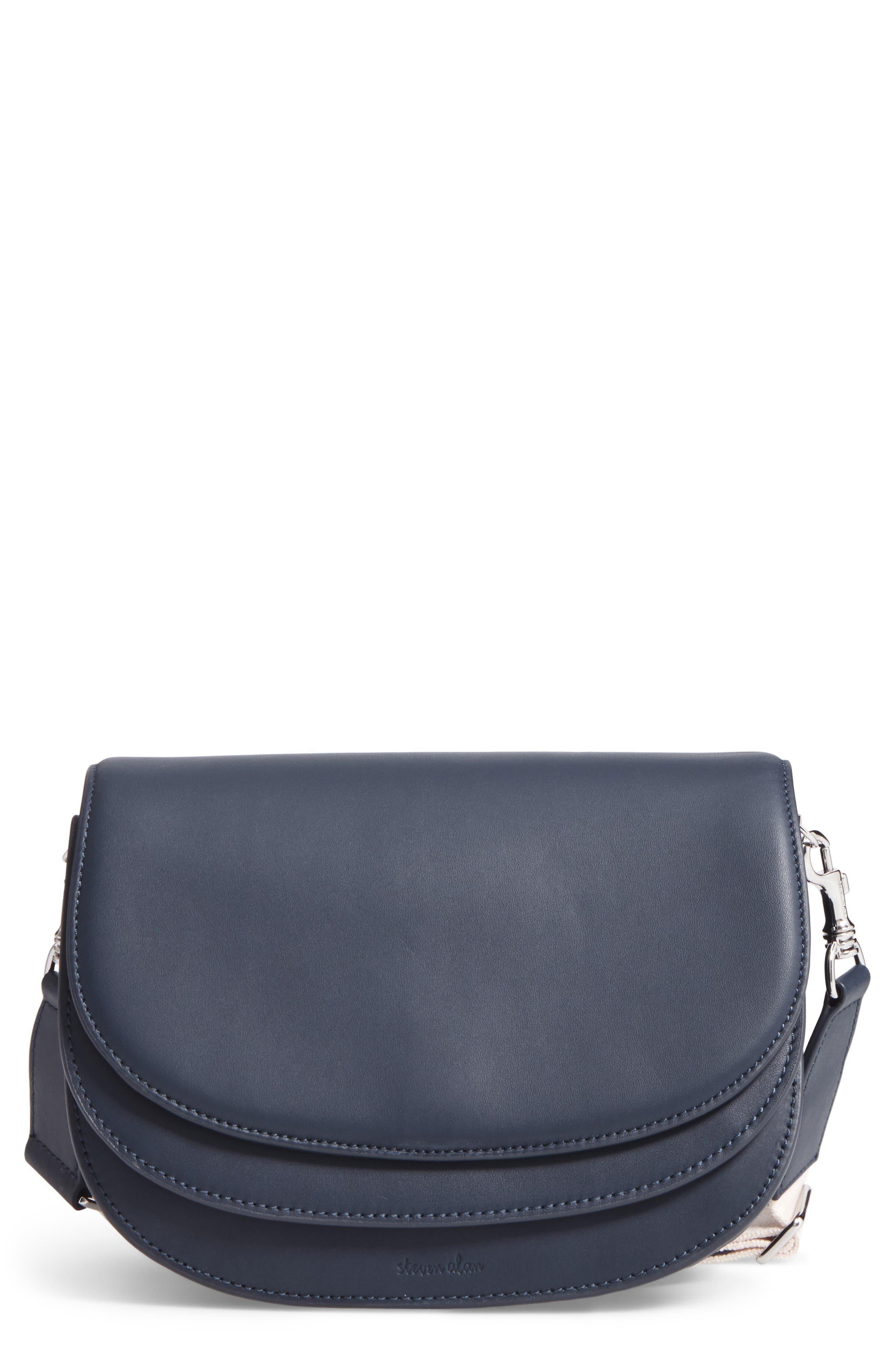 Steven Alan Landon Leather Crossbody Bag
