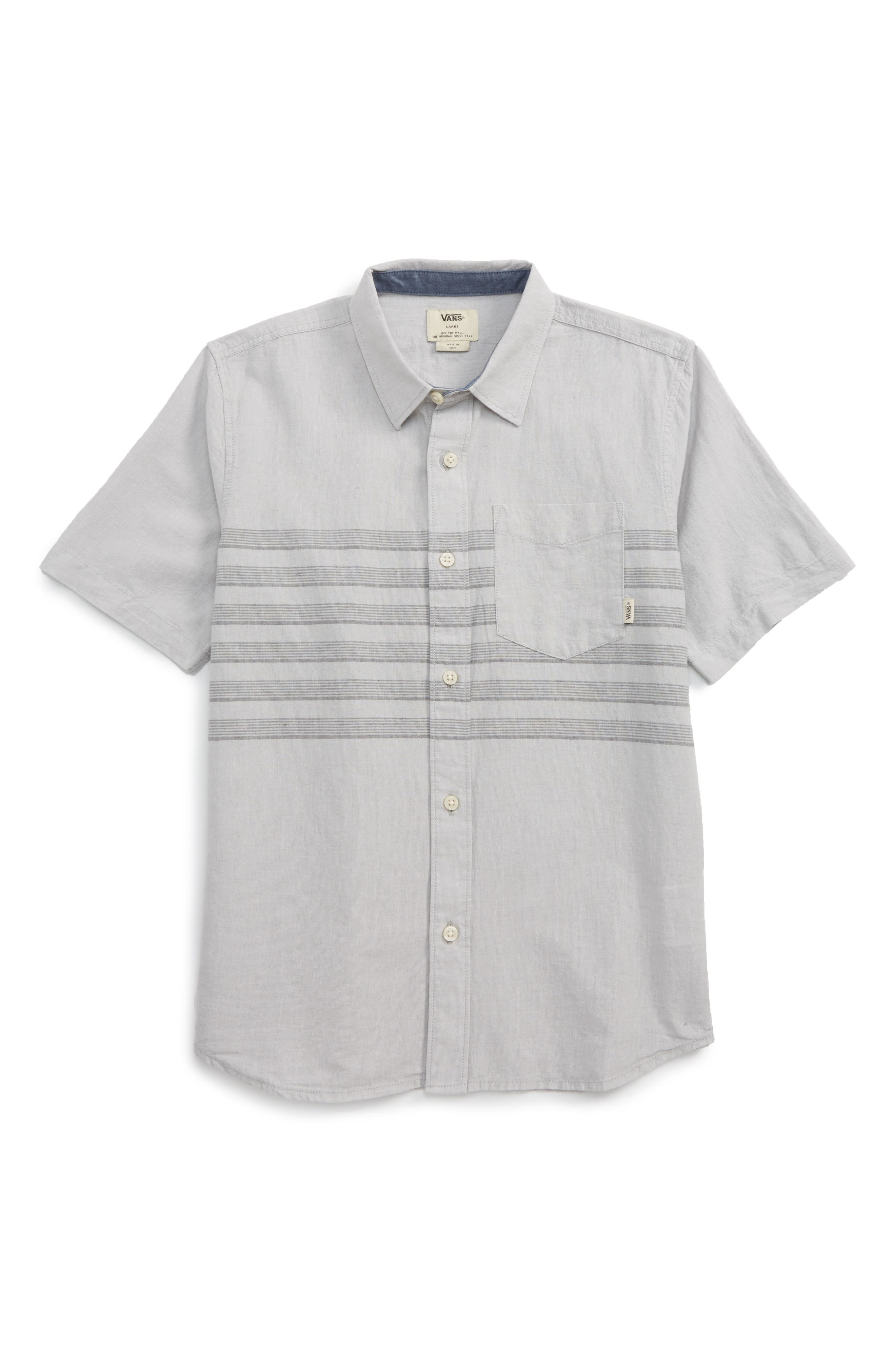 Vans Wallace Woven Shirt (Big Boys)