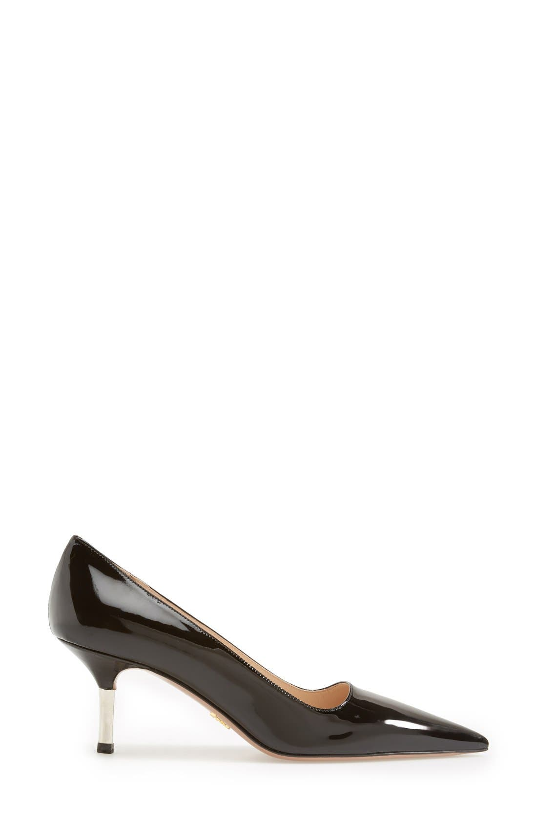 Alternate Image 4  - Prada Metal Heel Pump (Women)