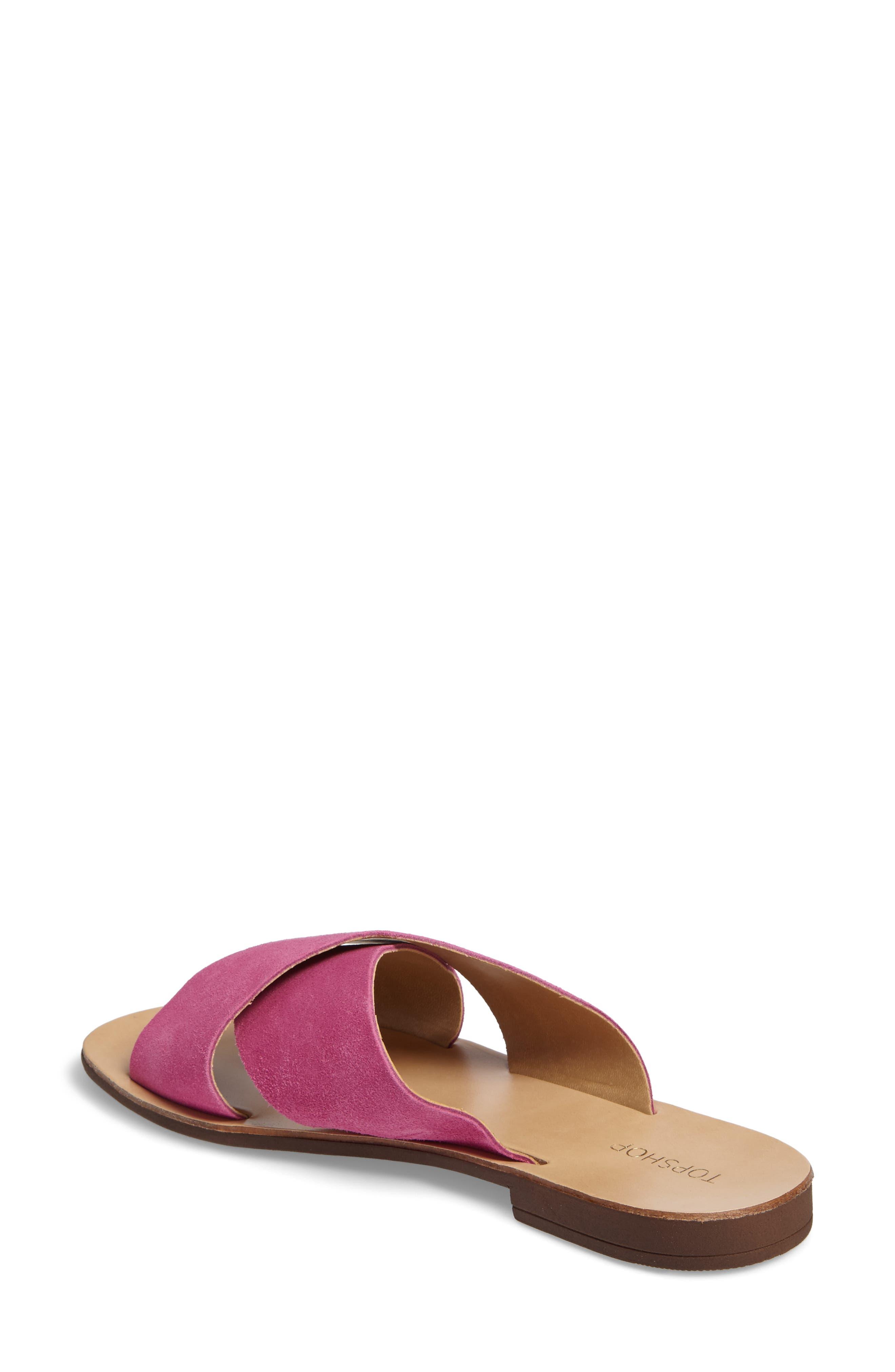 Alternate Image 2  - Topshop Hawaii Crisscross Sandal (Women)