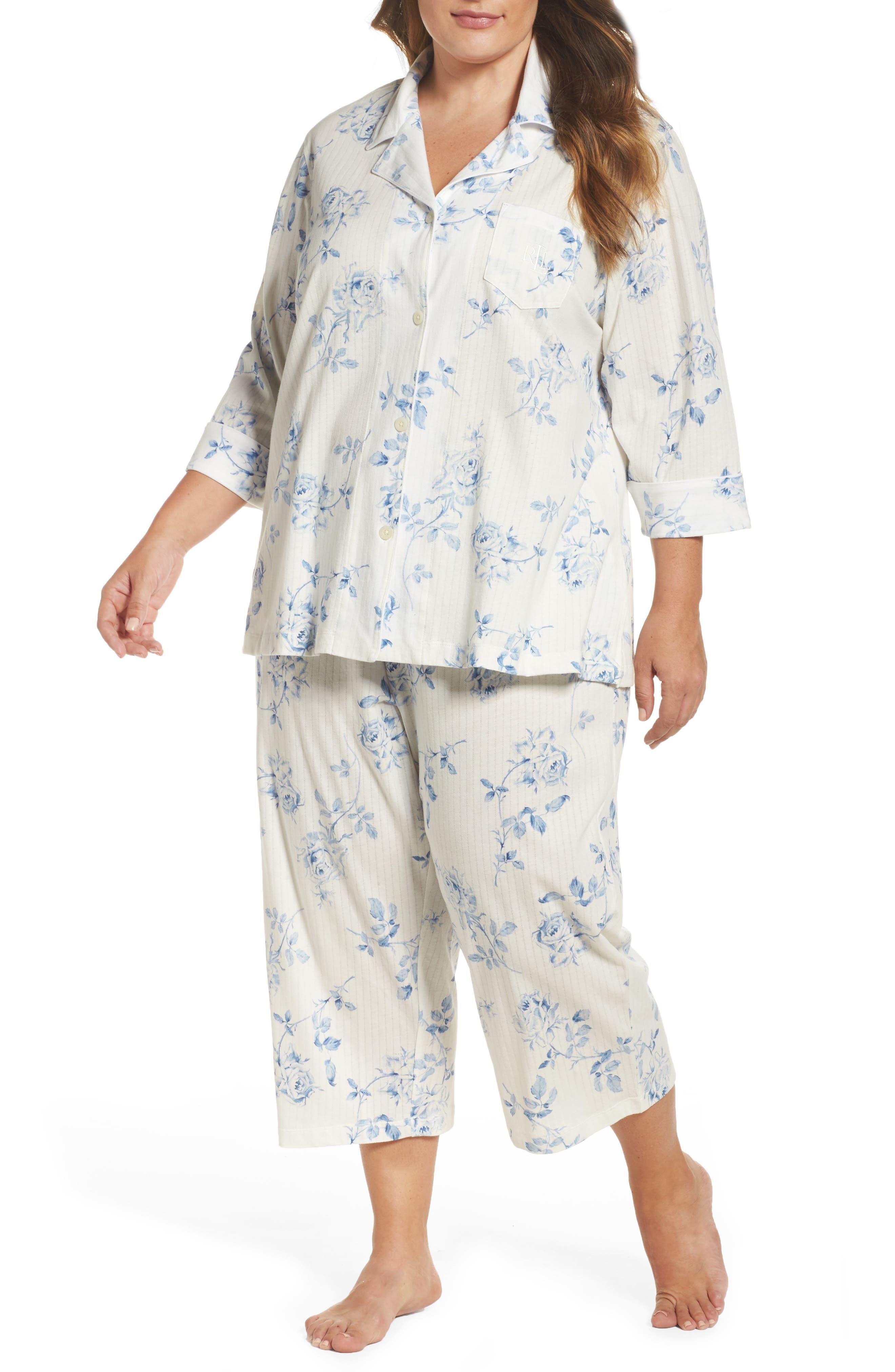 Lauren Ralph Lauren Capri Pajamas (Plus Size)