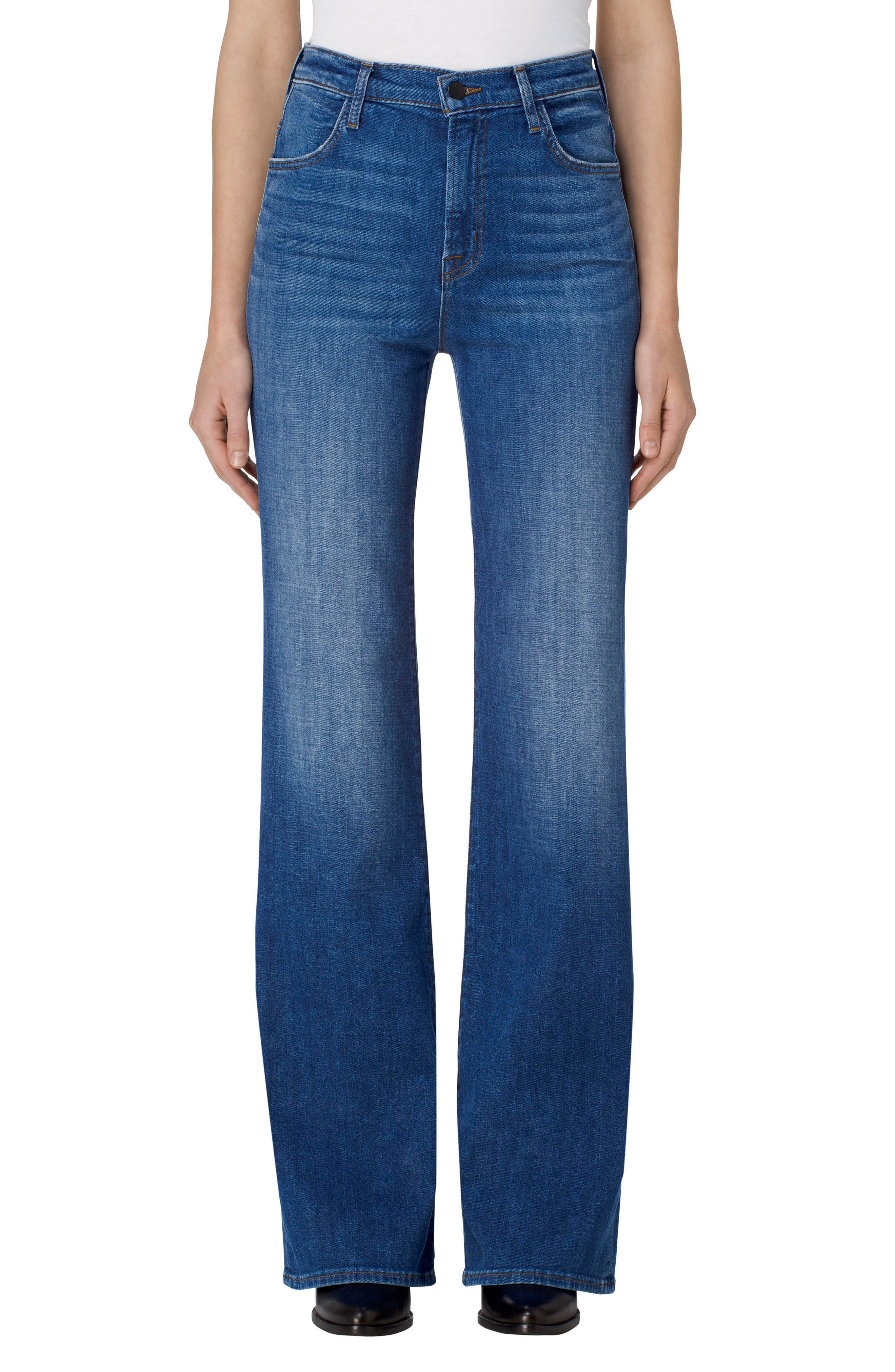 J Brand Joan High Waist Wide Leg Jeans