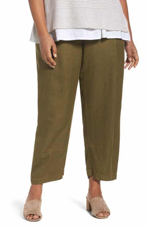 Eileen Fisher Lantern Ankle Pants (Plus Size)